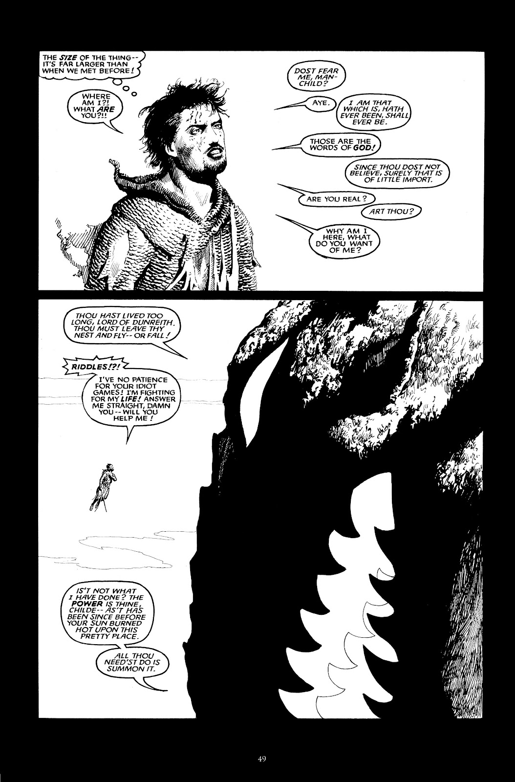 Read online The Black Dragon (2014) comic -  Issue # TPB (Part 1) - 49