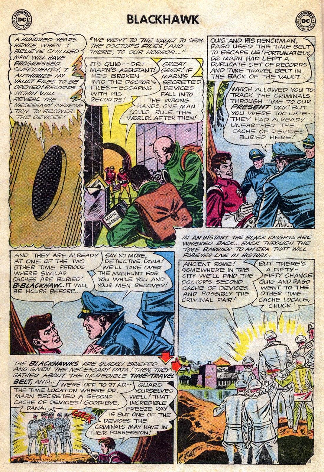 Blackhawk (1957) Issue #189 #82 - English 6