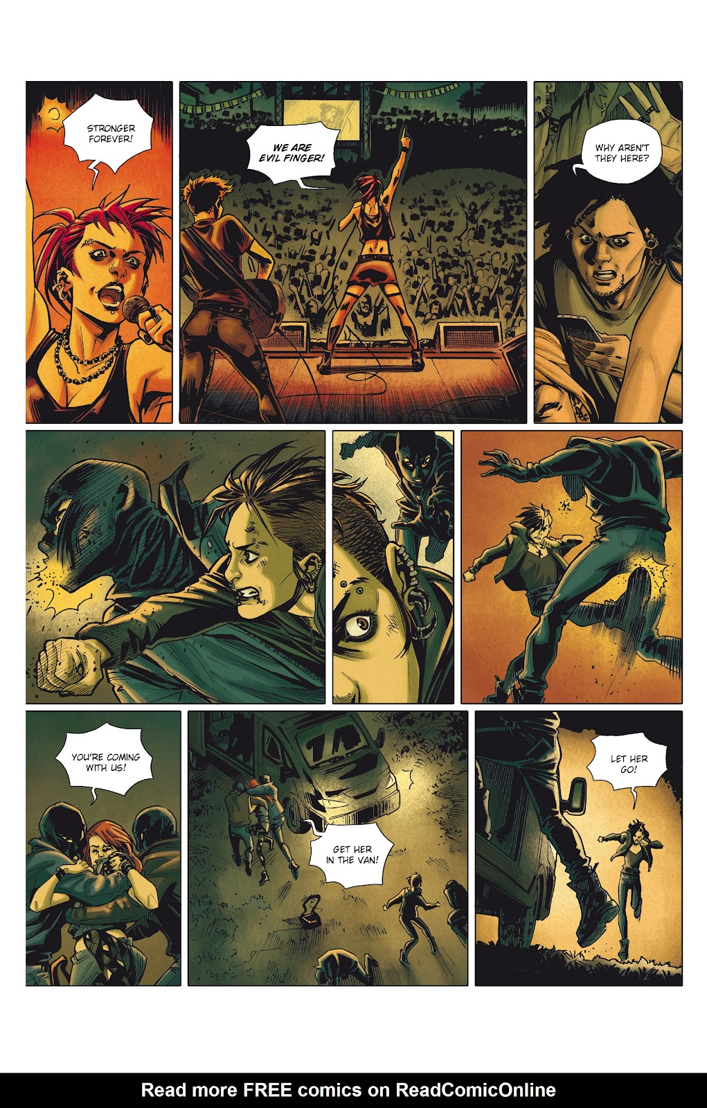Read online Millennium: The Girl Who Danced With Death comic -  Issue #1 - 6