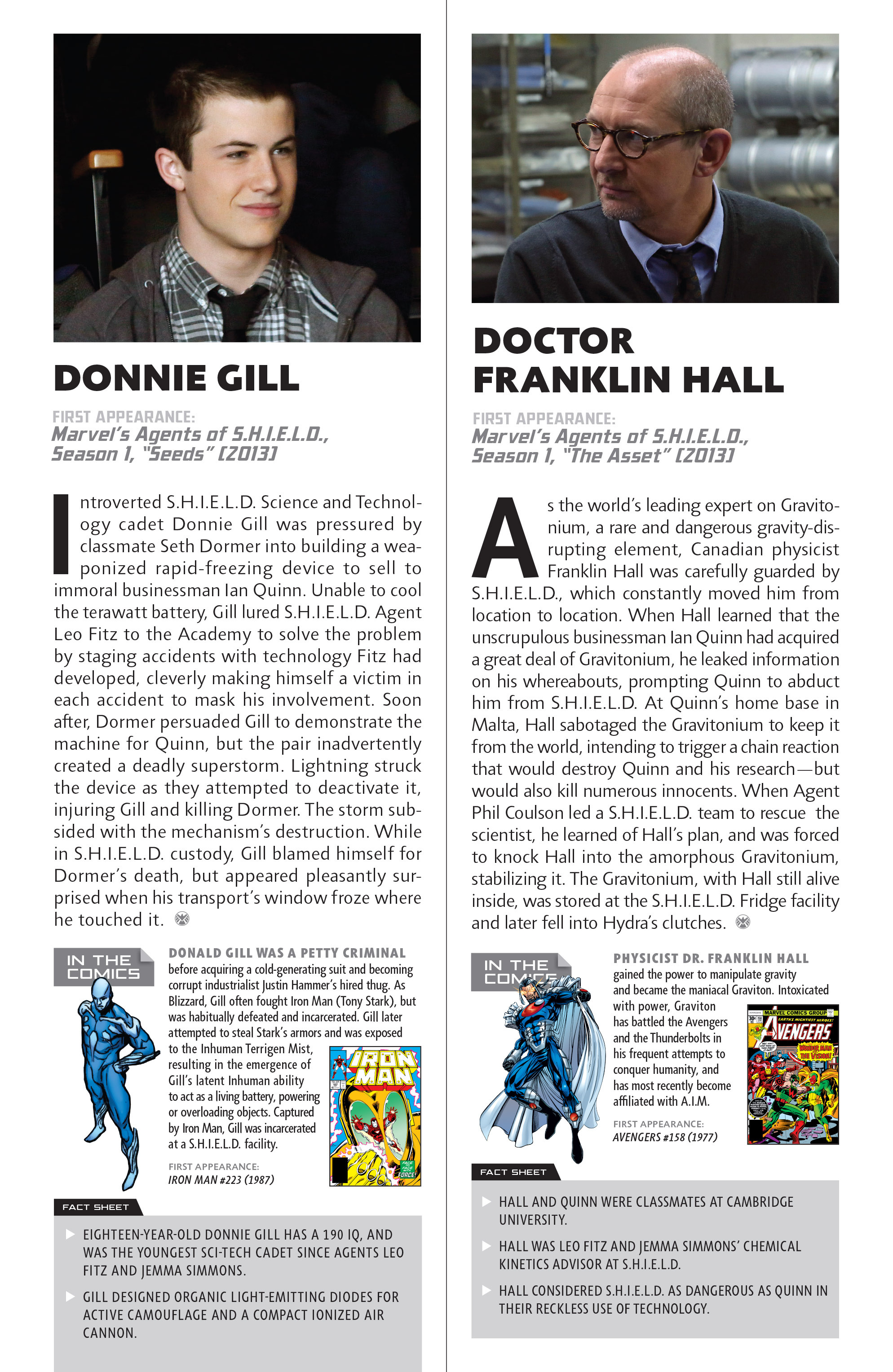 Read online Guidebook to the Marvel Cinematic Universe - Marvel's Agents of S.H.I.E.L.D. Season One comic -  Issue # Full - 17
