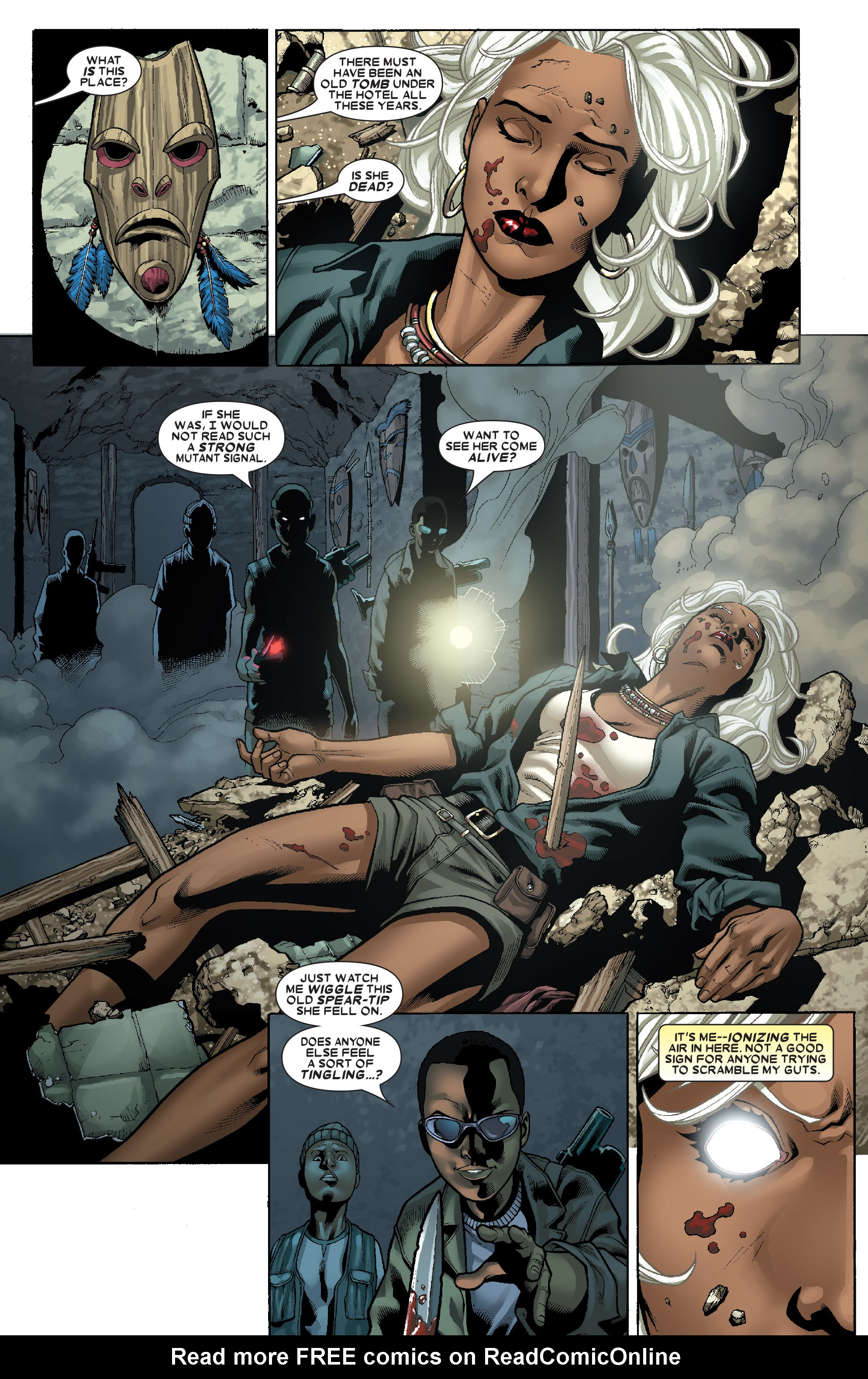 Read online Uncanny X-Men (1963) comic -  Issue # _Annual 1 (2006) - 33