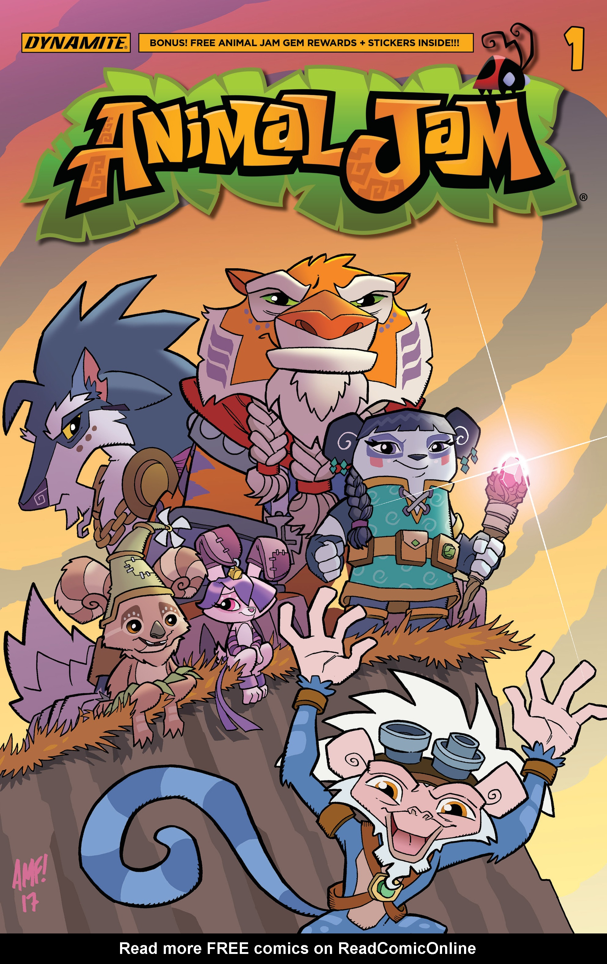 Read online Animal Jam comic -  Issue #1 - 2