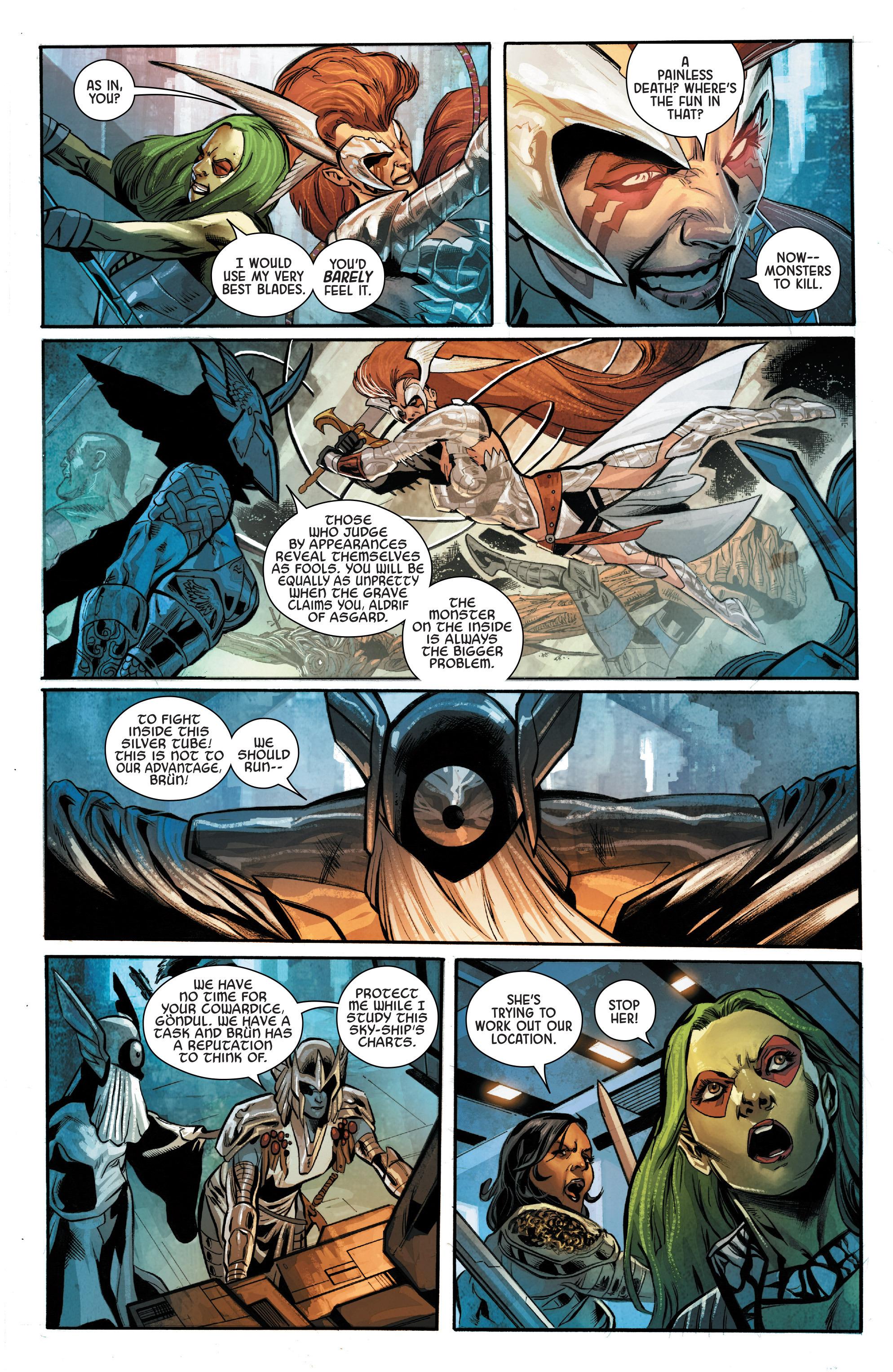 Read online Angela: Asgard's Assassin comic -  Issue #4 - 11