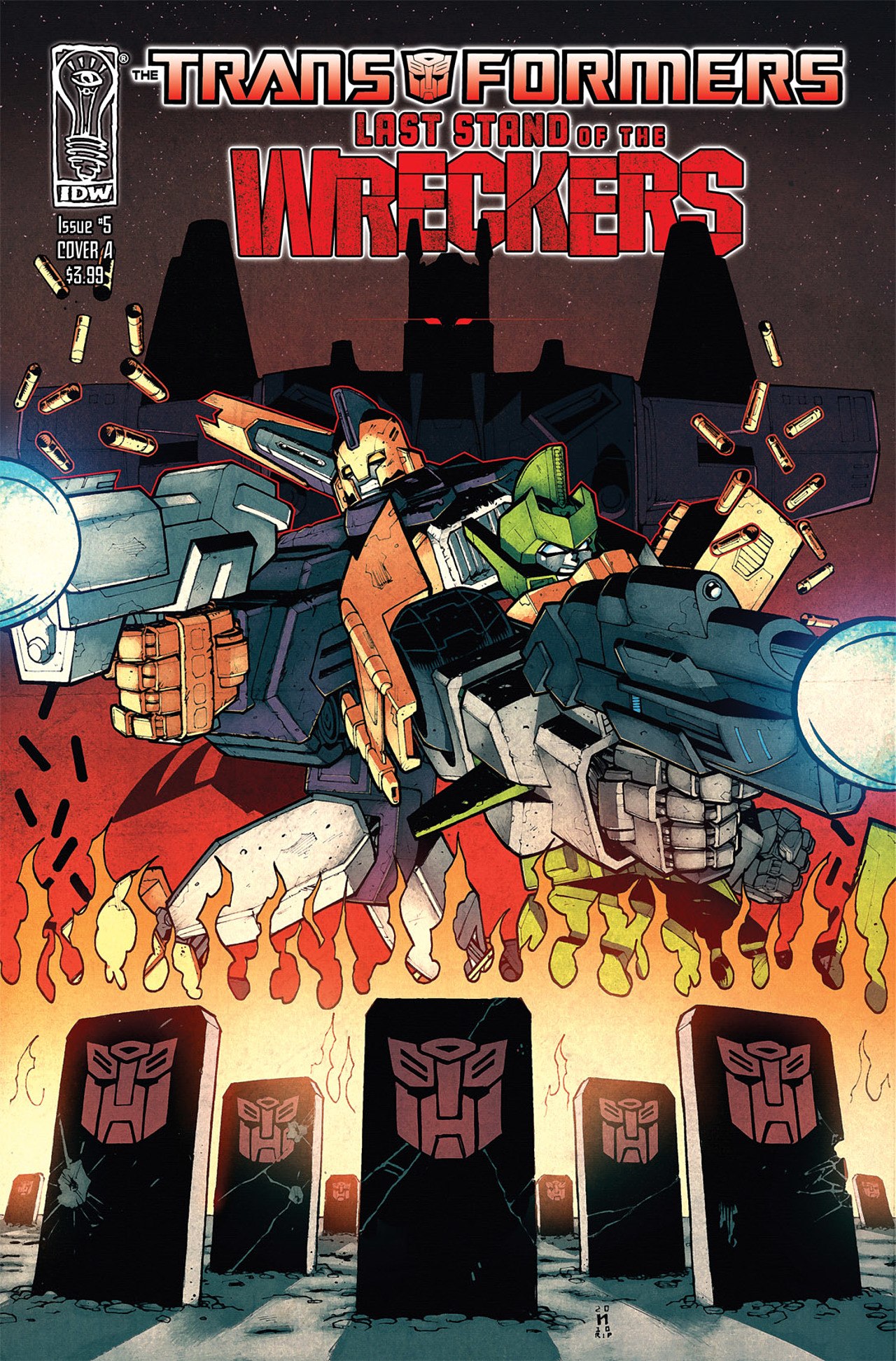 Read online Transformers: Last Stand of The Wreckers comic -  Issue #5 - 1