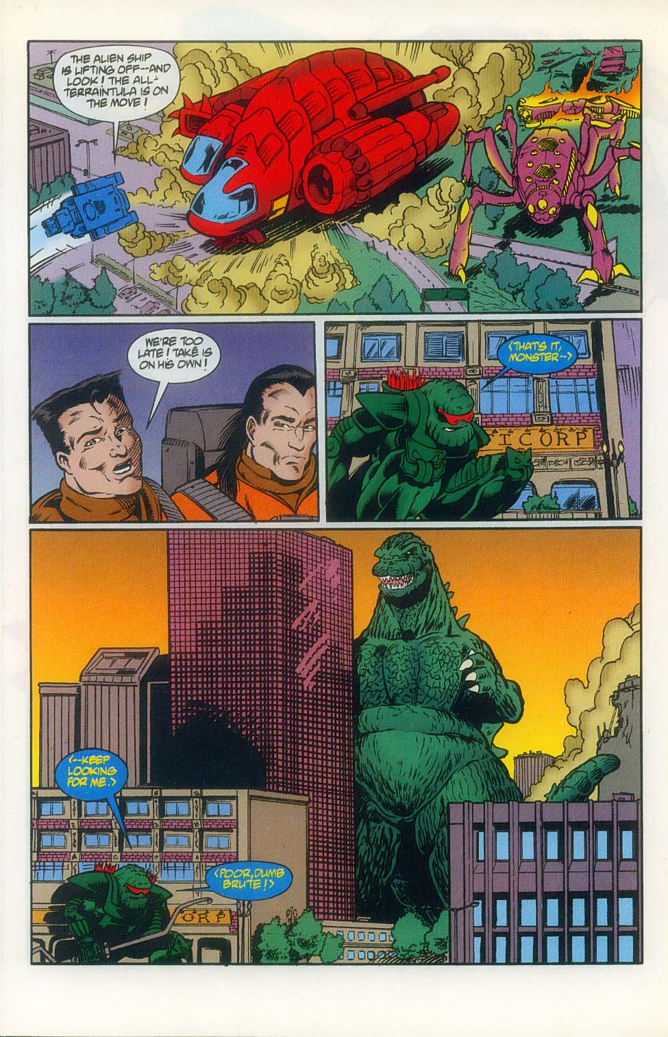 Godzilla (1995) Issue #8 #9 - English 12