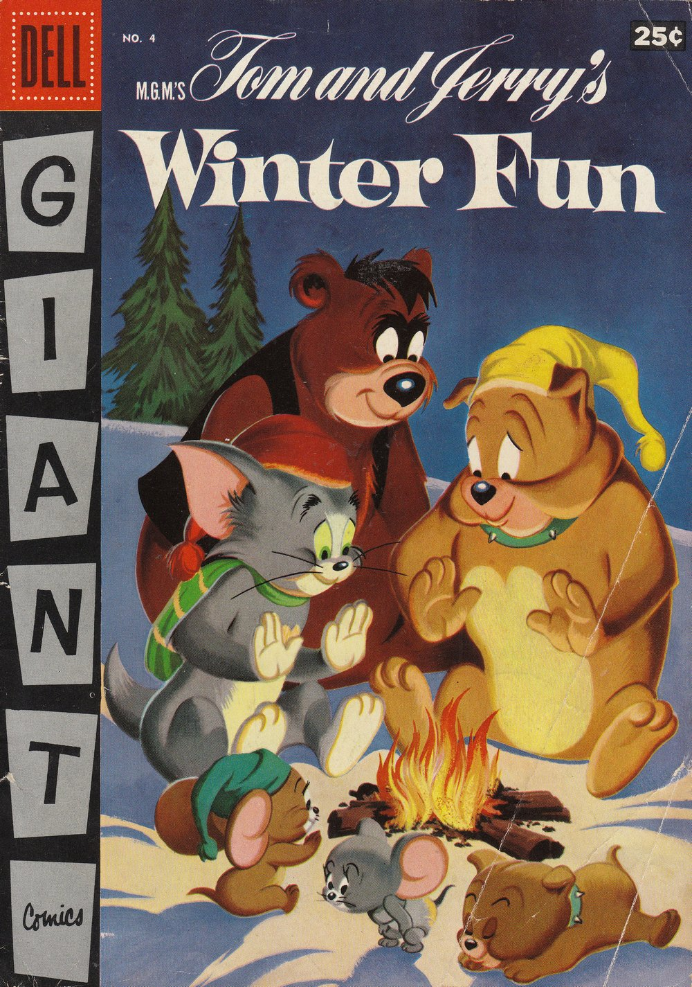 M.G.M.'s Tom and Jerry's Winter Fun issue 4 - Page 1