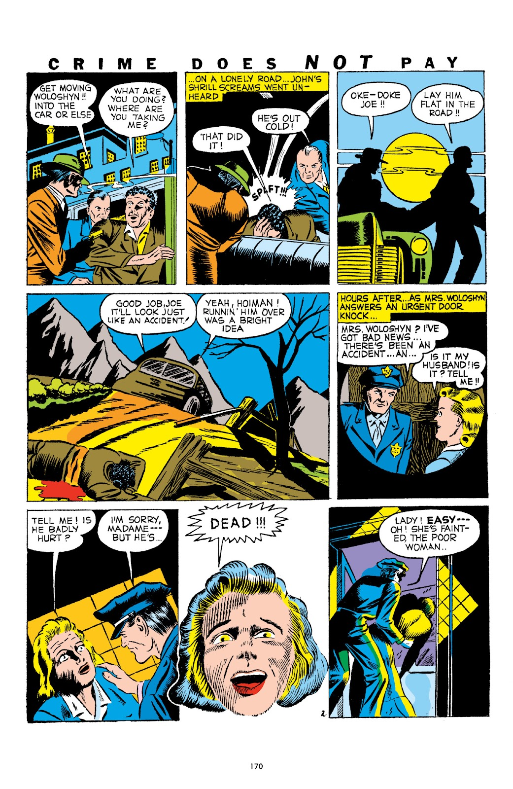 Read online Crime Does Not Pay Archives comic -  Issue # TPB 1 (Part 2) - 73