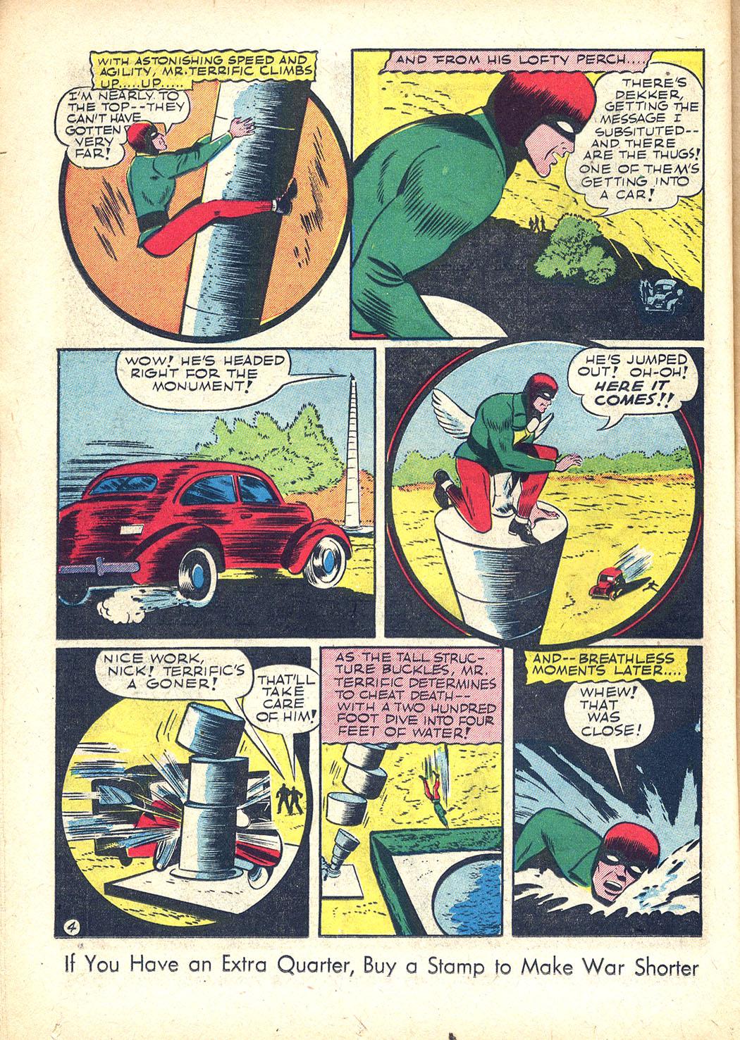 Read online Sensation (Mystery) Comics comic -  Issue #34 - 36