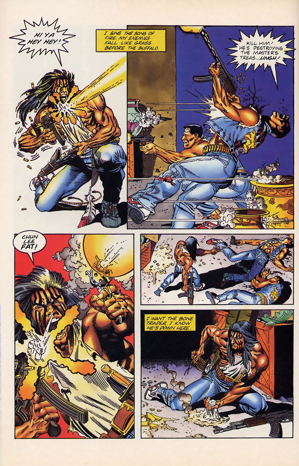 Read online Turok, Dinosaur Hunter (1993) comic -  Issue #12 - 12