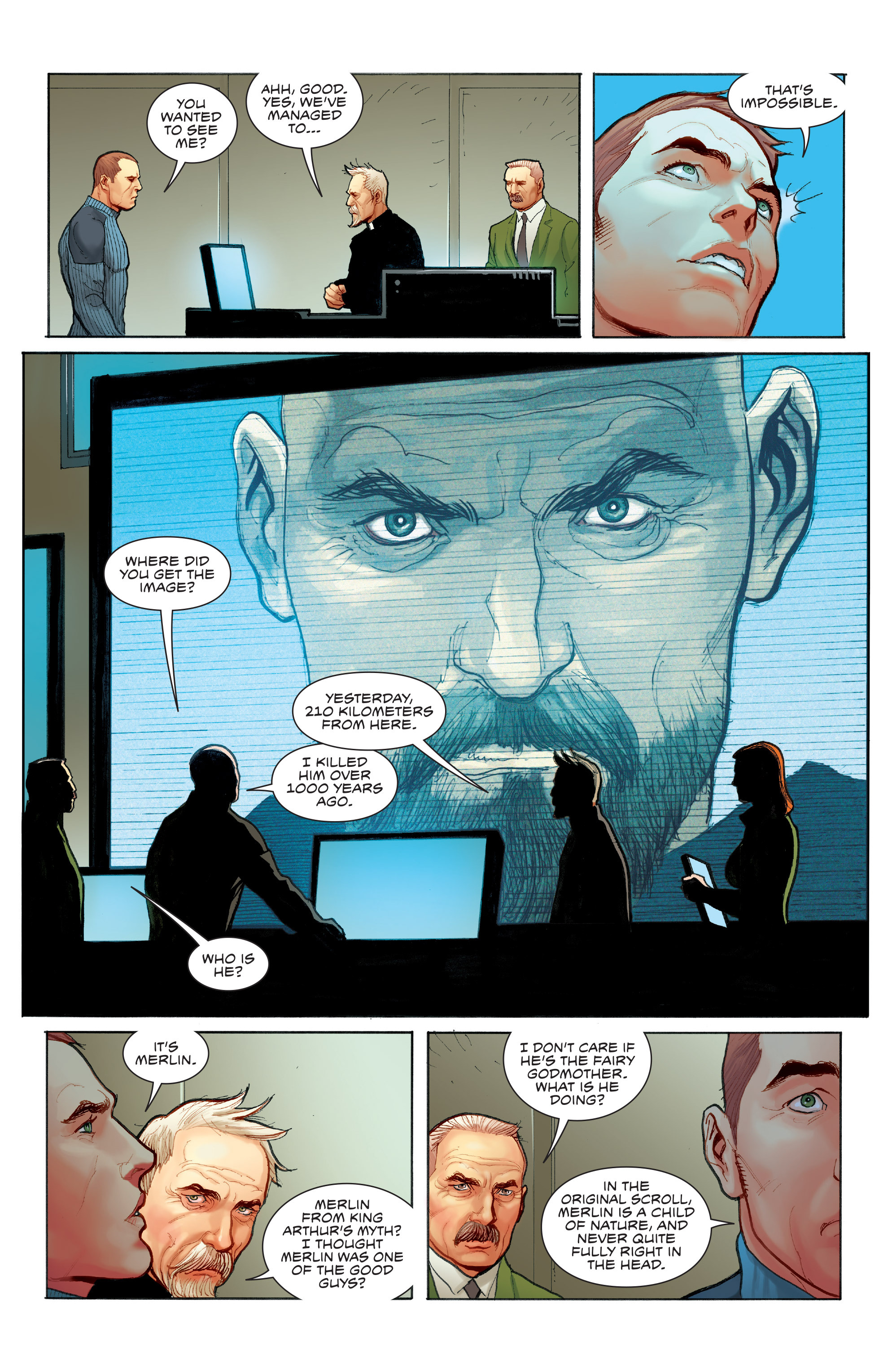 Read online Skybourne comic -  Issue #3 - 18