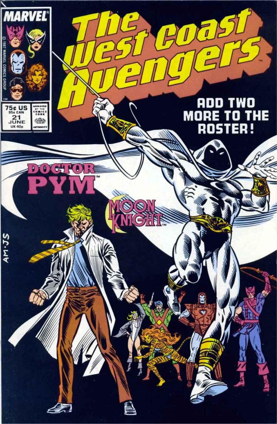 West Coast Avengers (1985) 21 Page 1