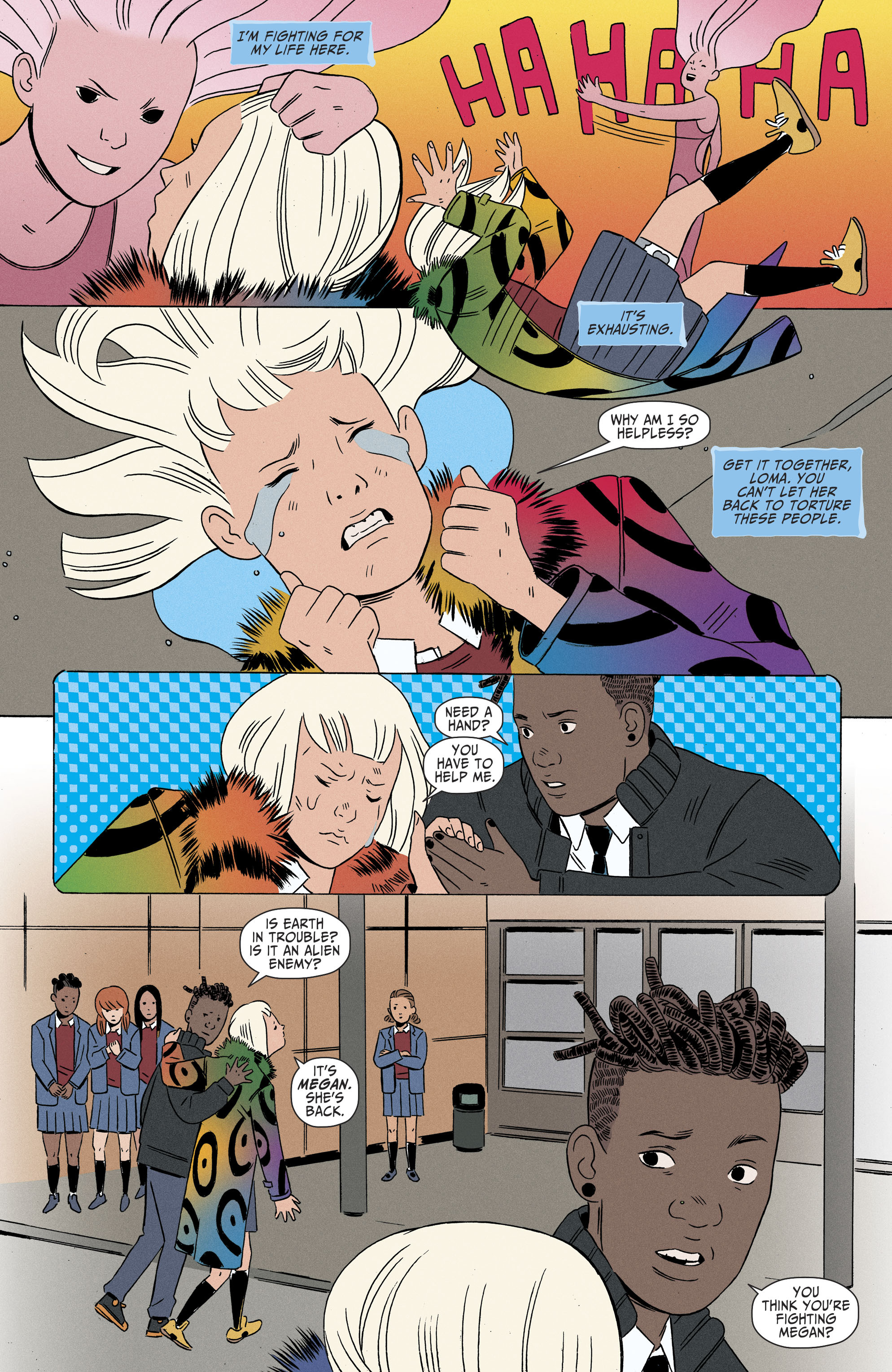 Read online Shade, the Changing Girl comic -  Issue #6 - 6