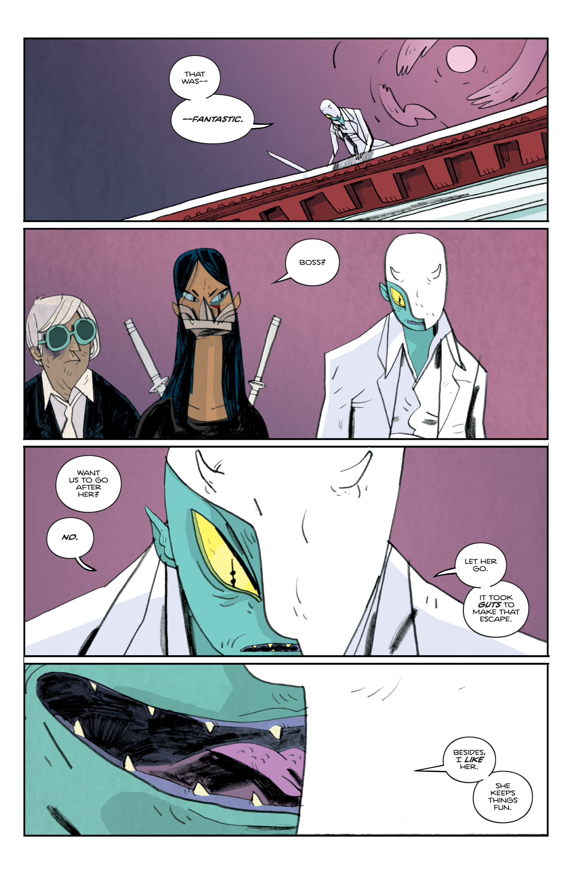 Read online Helena Crash comic -  Issue #3 - 12
