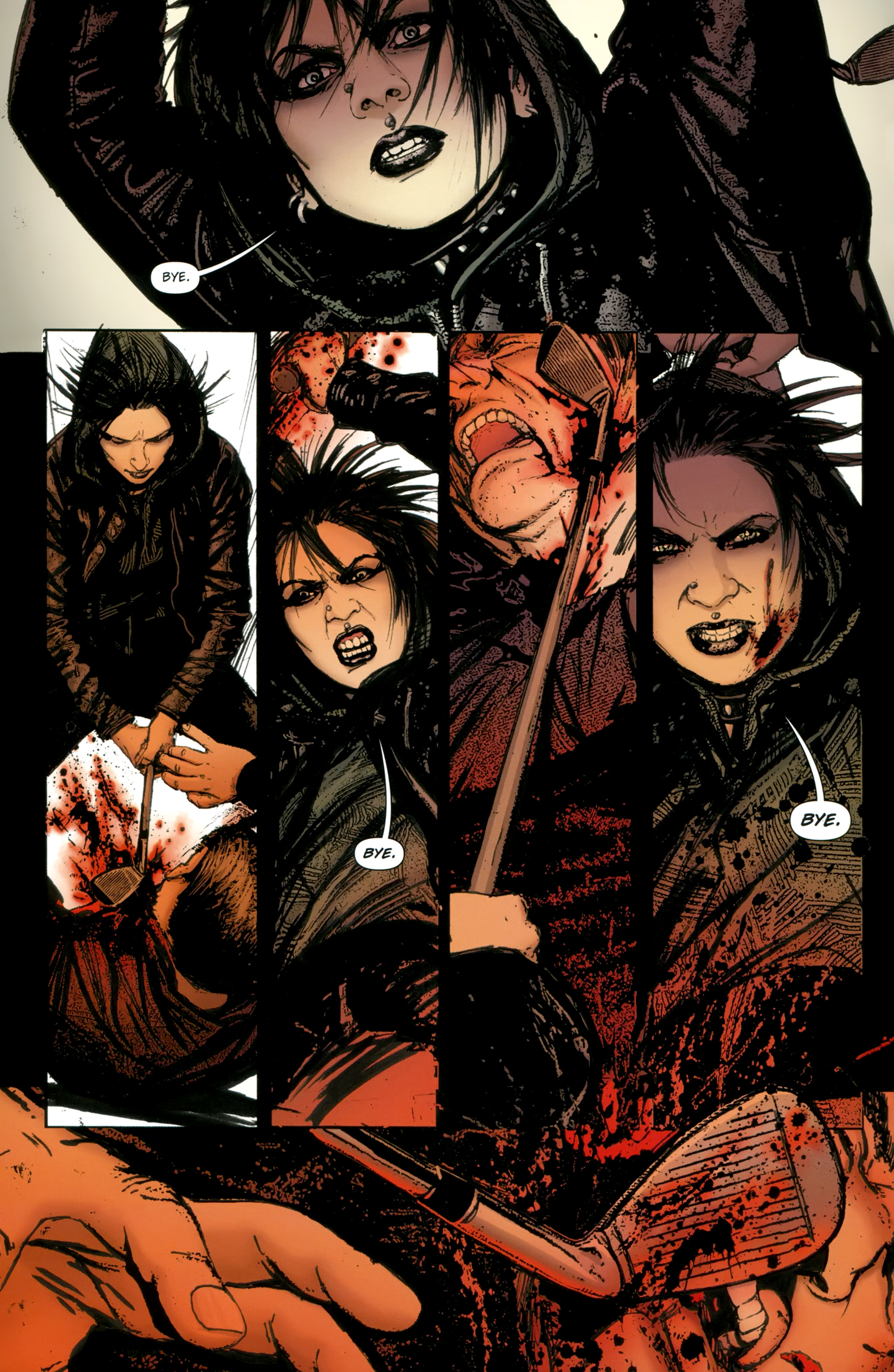 Read online The Girl With the Dragon Tattoo comic -  Issue # TPB 2 - 100