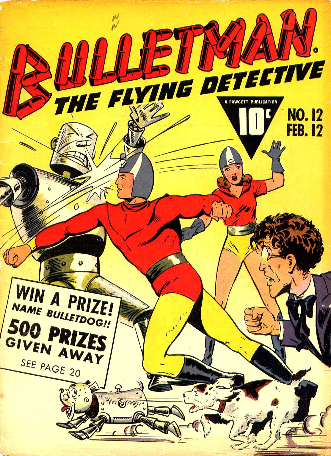 Bulletman issue 12 - Page 1