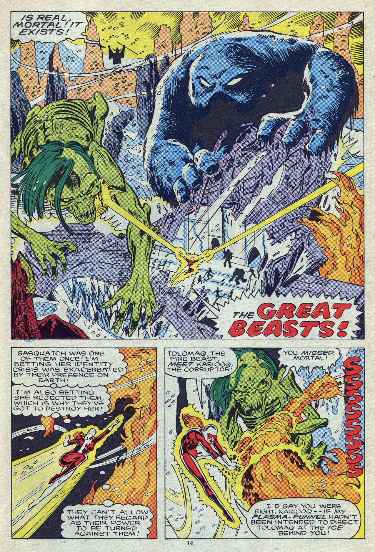 Read online Alpha Flight (1983) comic -  Issue #55 - 20