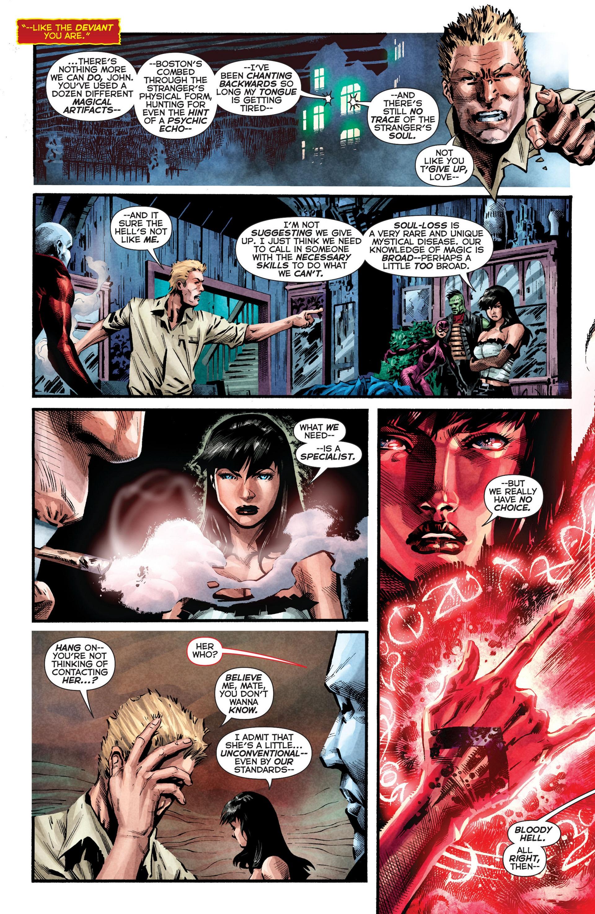 Read online Trinity of Sin: The Phantom Stranger comic -  Issue #8 - 9