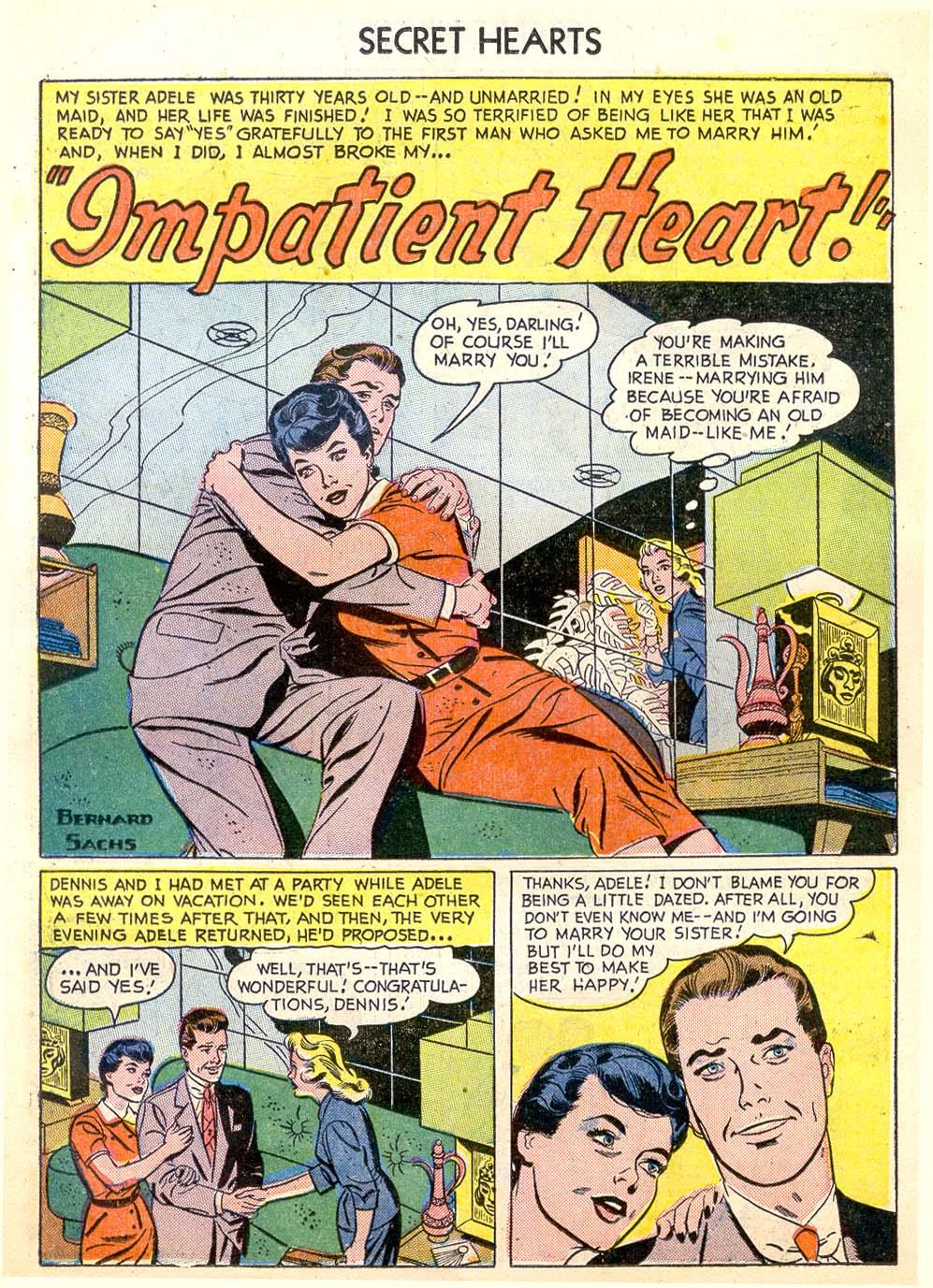Read online Secret Hearts comic -  Issue #26 - 11