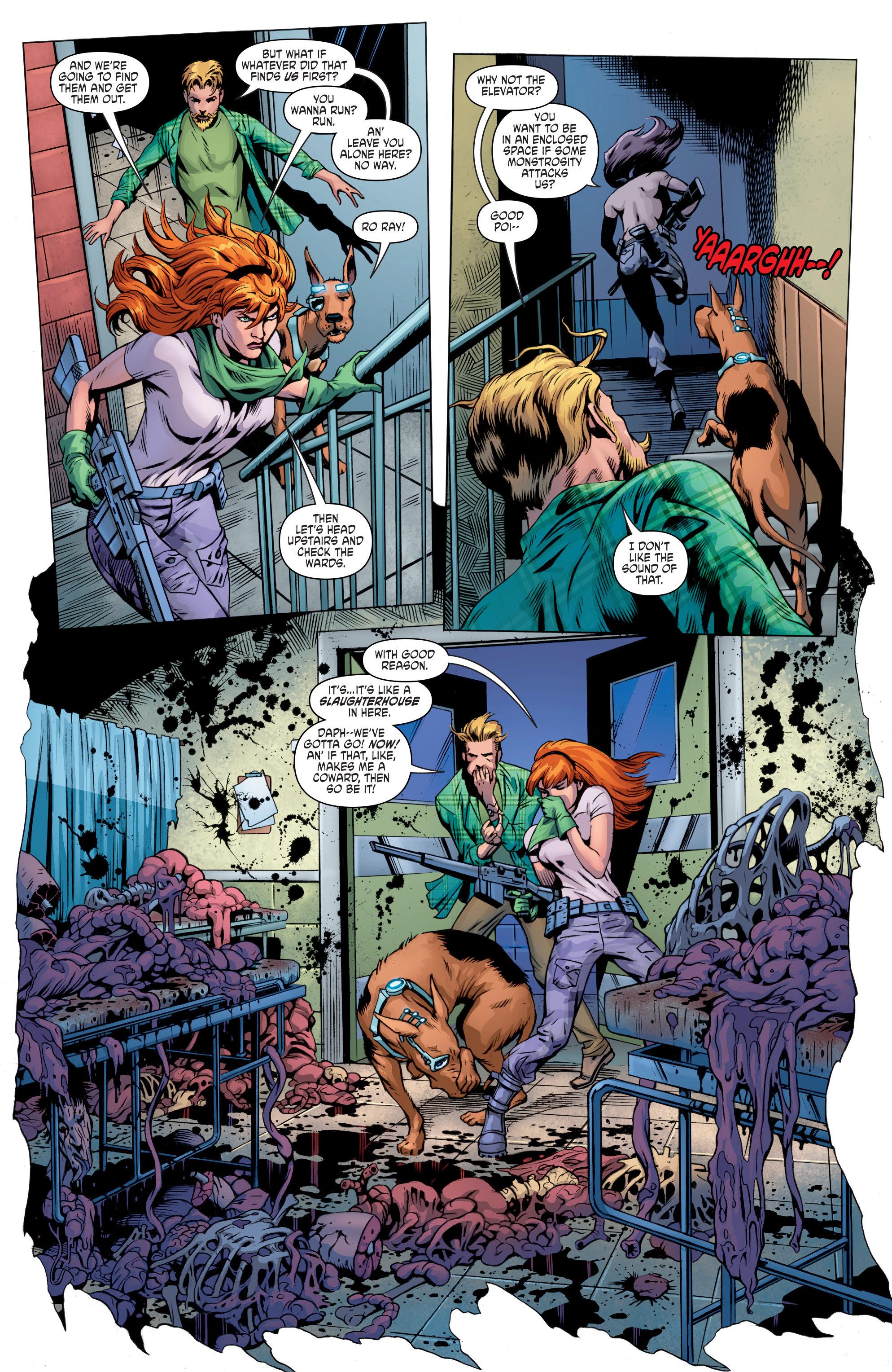 Read online Scooby Apocalypse comic -  Issue #8 - 13