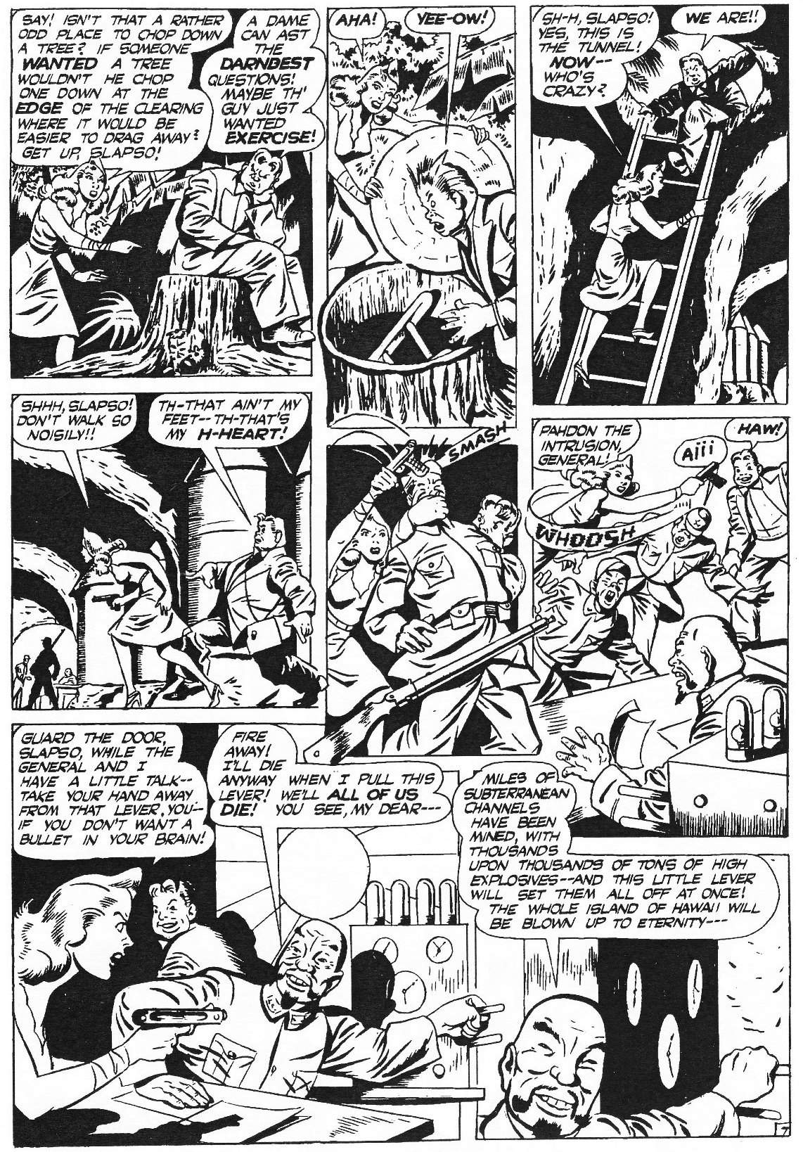 Read online Men of Mystery Comics comic -  Issue #82 - 33