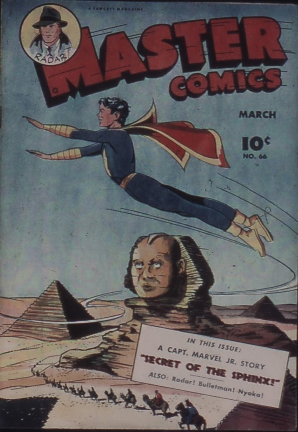 Master Comics 66 Page 1