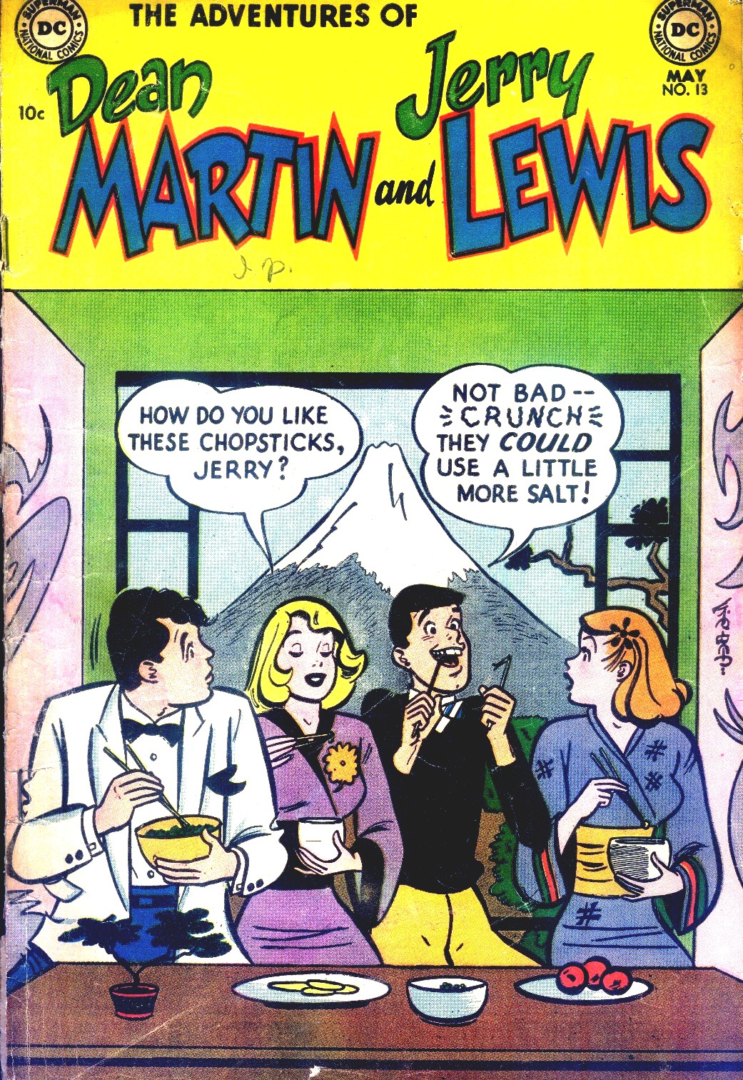 The Adventures of Dean Martin and Jerry Lewis 13 Page 1