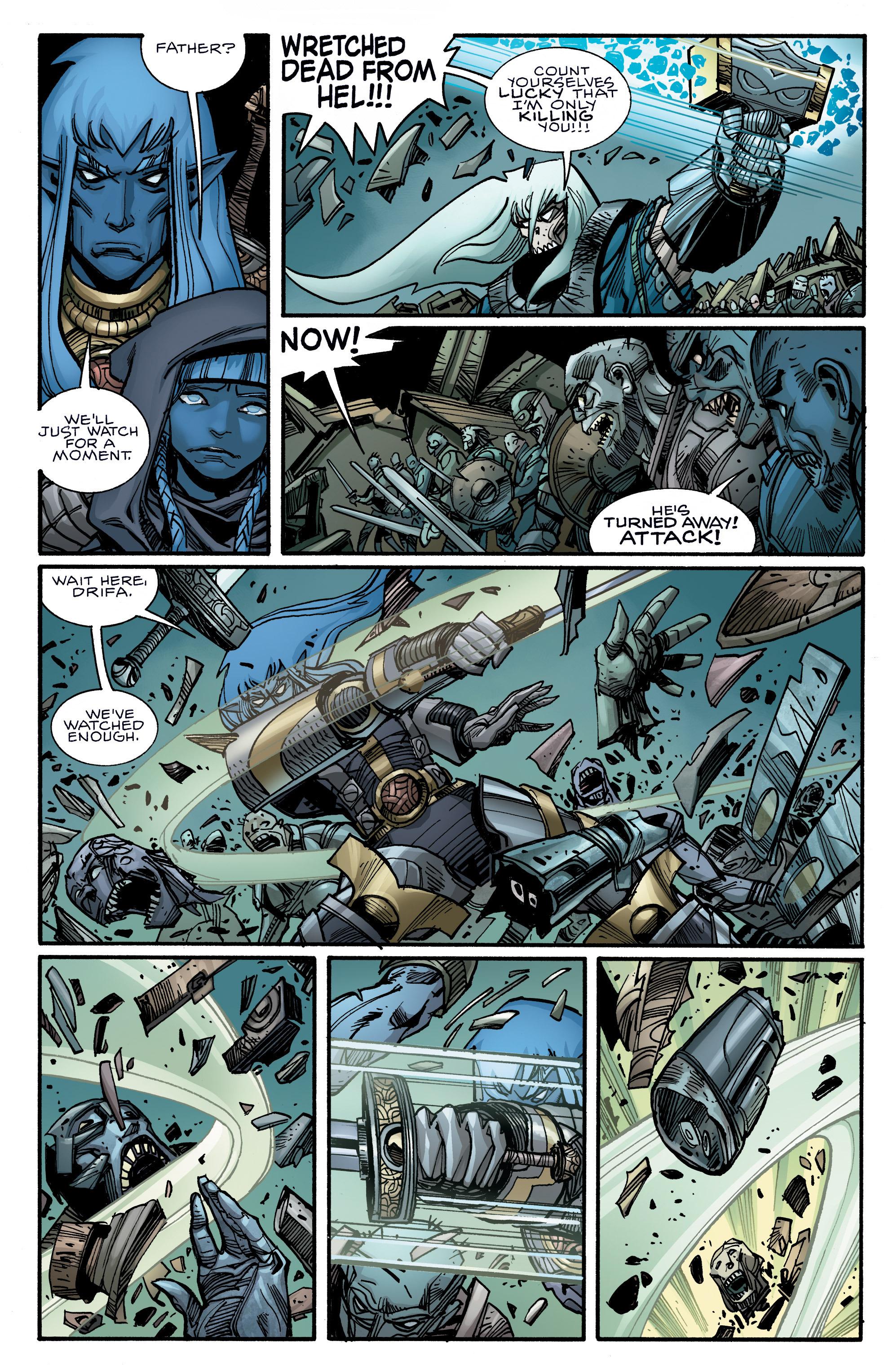Read online Ragnarok comic -  Issue #10 - 17