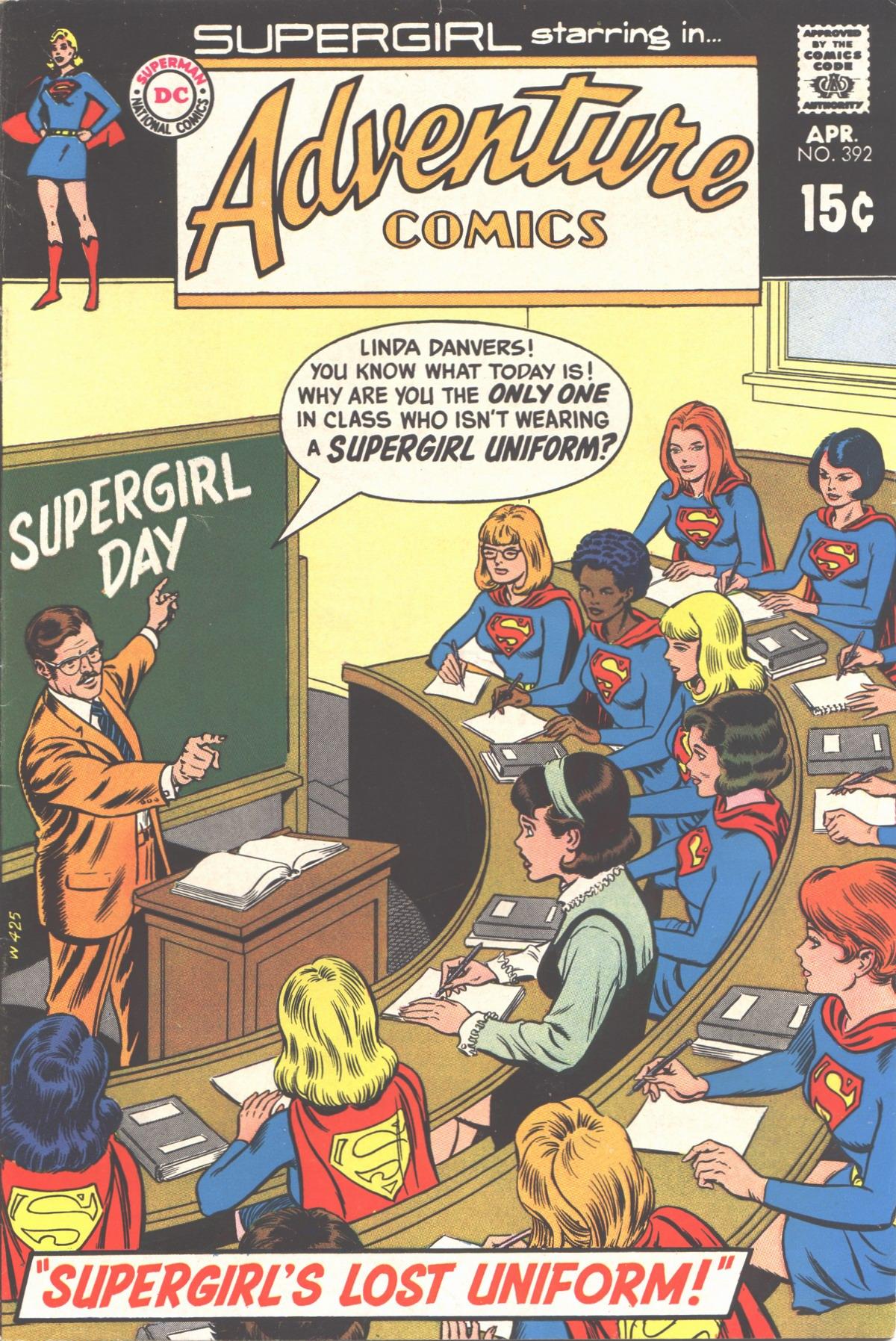 Read online Adventure Comics (1938) comic -  Issue #392 - 1