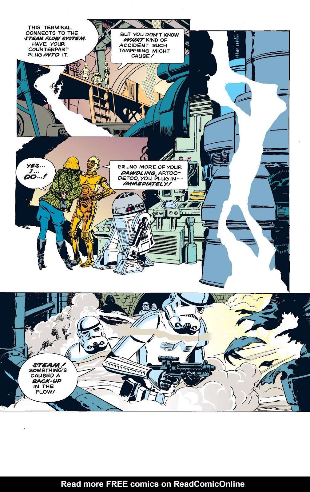 Read online Star Wars Legends: The Newspaper Strips - Epic Collection comic -  Issue # TPB (Part 5) - 67