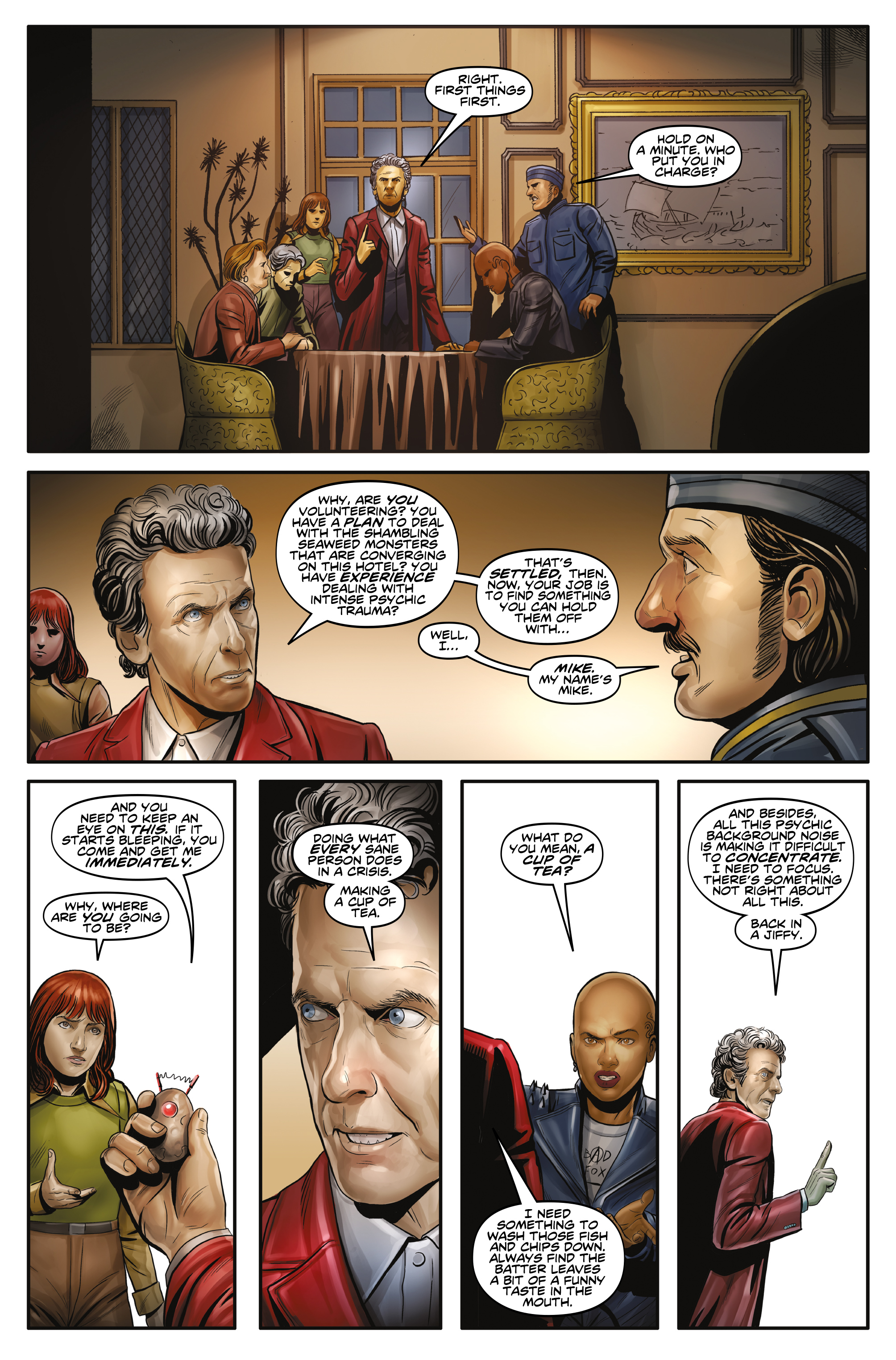 Read online Doctor Who: The Twelfth Doctor Year Three comic -  Issue #3 - 9