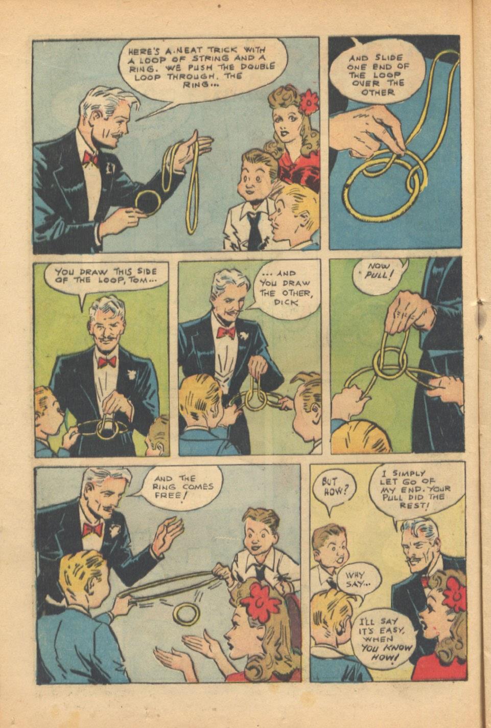 Read online Super-Magician Comics comic -  Issue #37 - 17