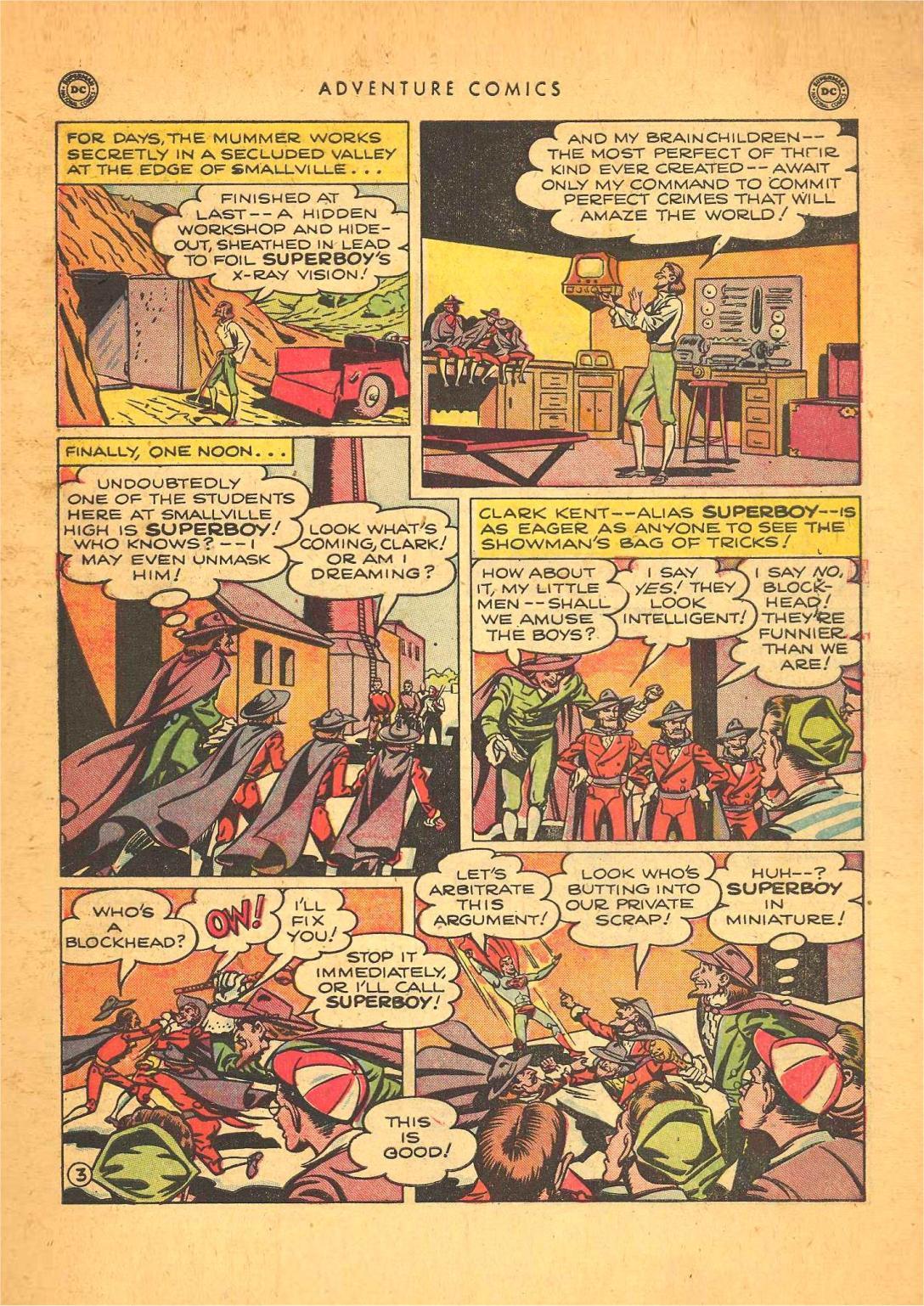 Read online Adventure Comics (1938) comic -  Issue #148 - 5