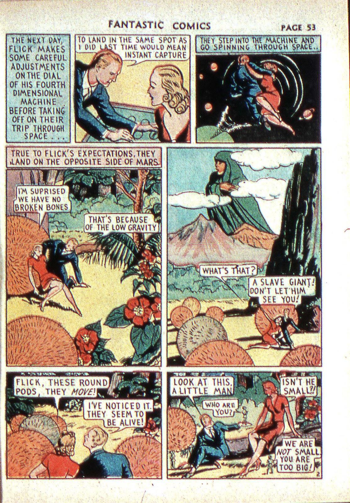Read online Fantastic Comics comic -  Issue #2 - 54