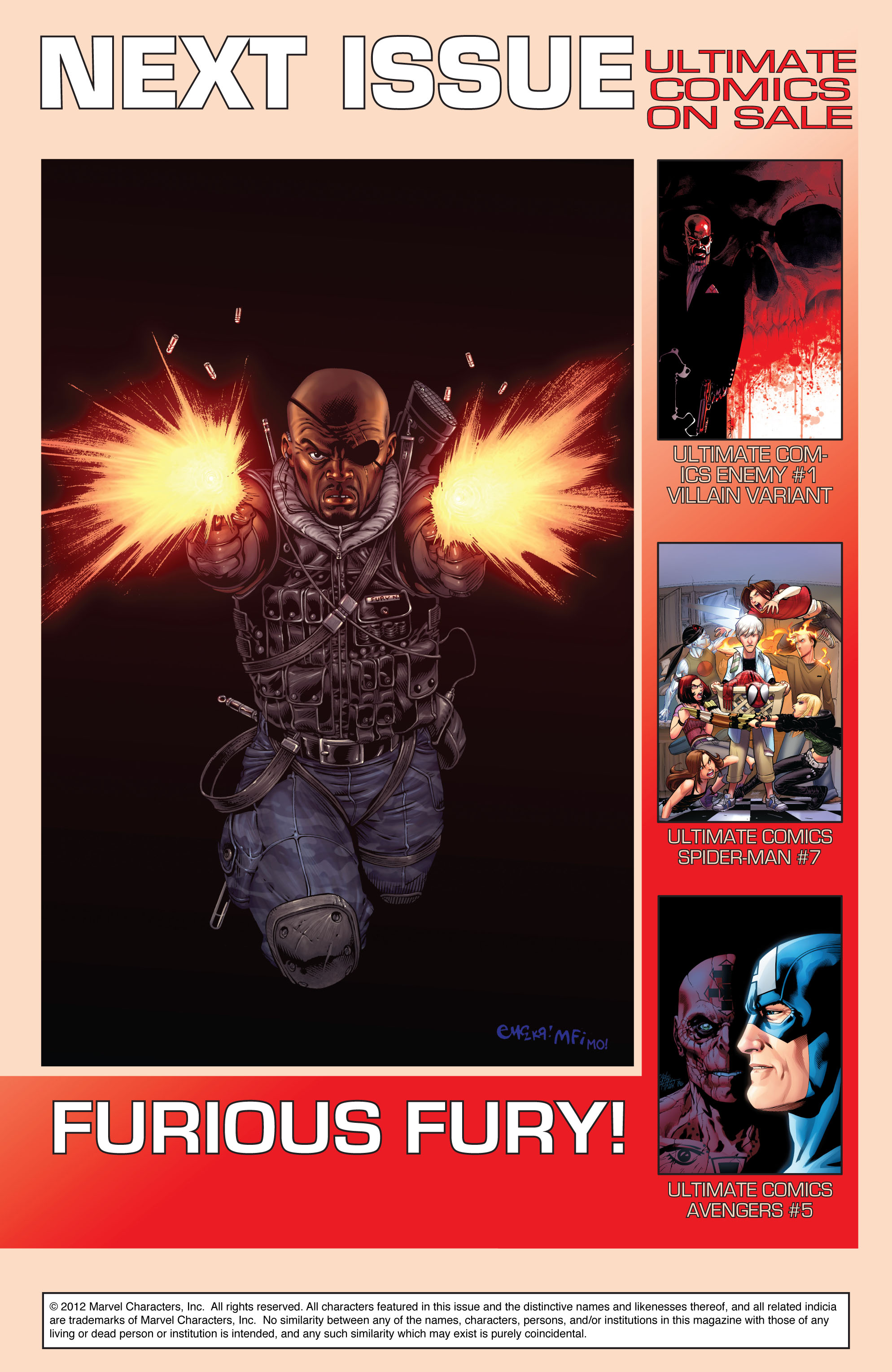 Read online Ultimate Comics Doomsday comic -  Issue # Full - 22