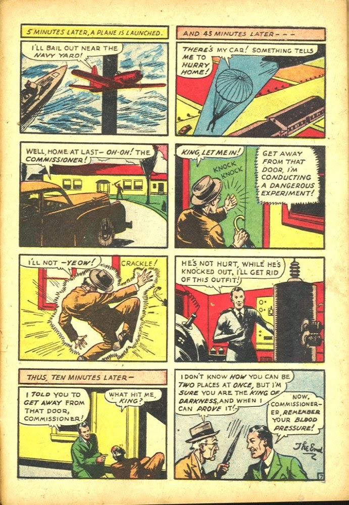 Read online Amazing Man Comics comic -  Issue #25 - 51
