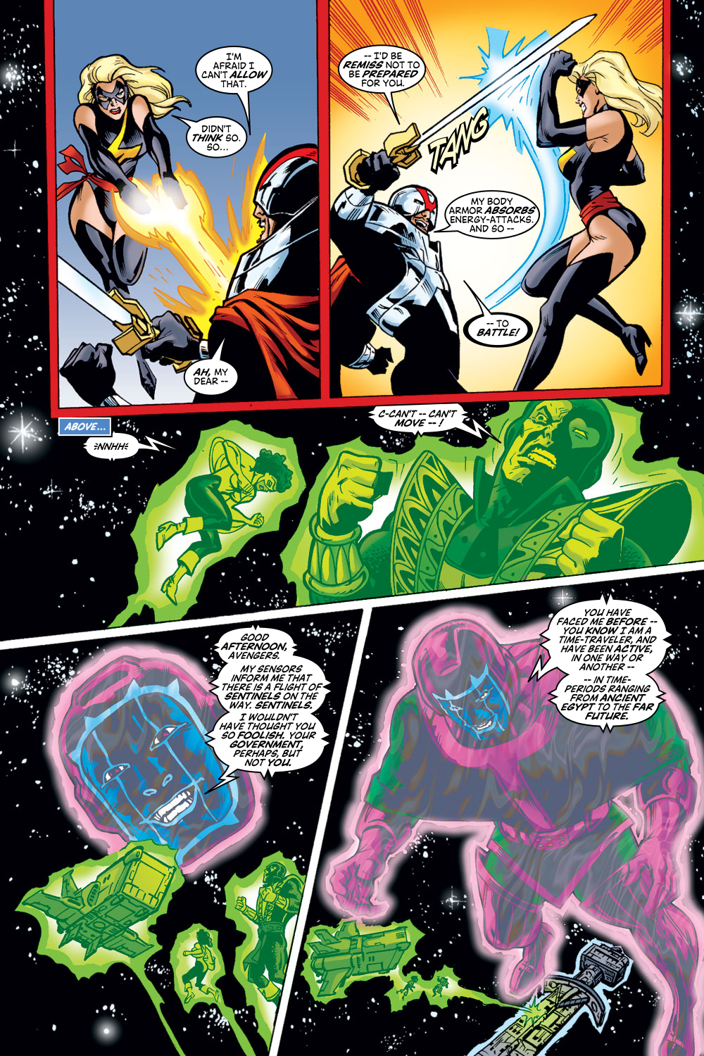 Read online Avengers (1998) comic -  Issue #48 - 17