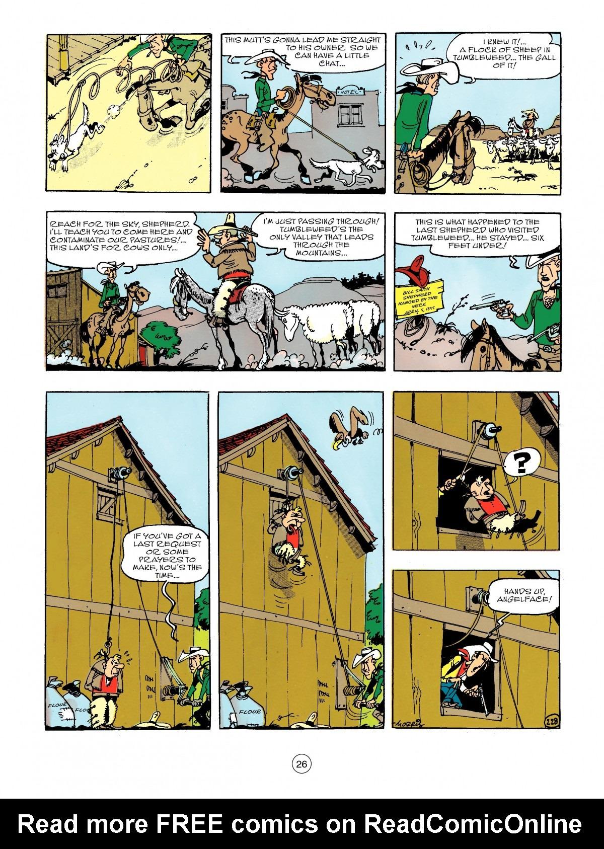 Read online A Lucky Luke Adventure comic -  Issue #44 - 26