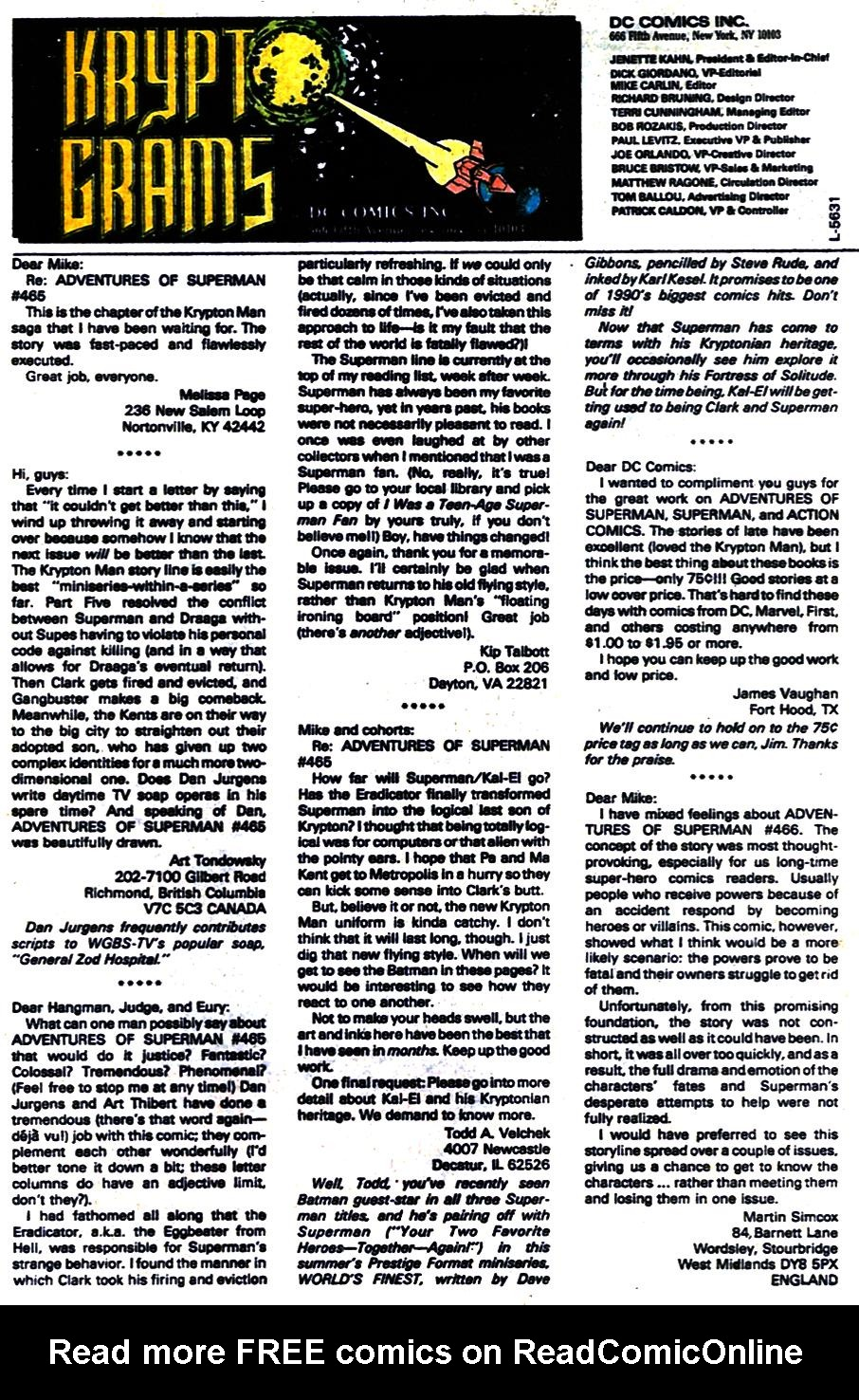 Read online Adventures of Superman (1987) comic -  Issue #470 - 24