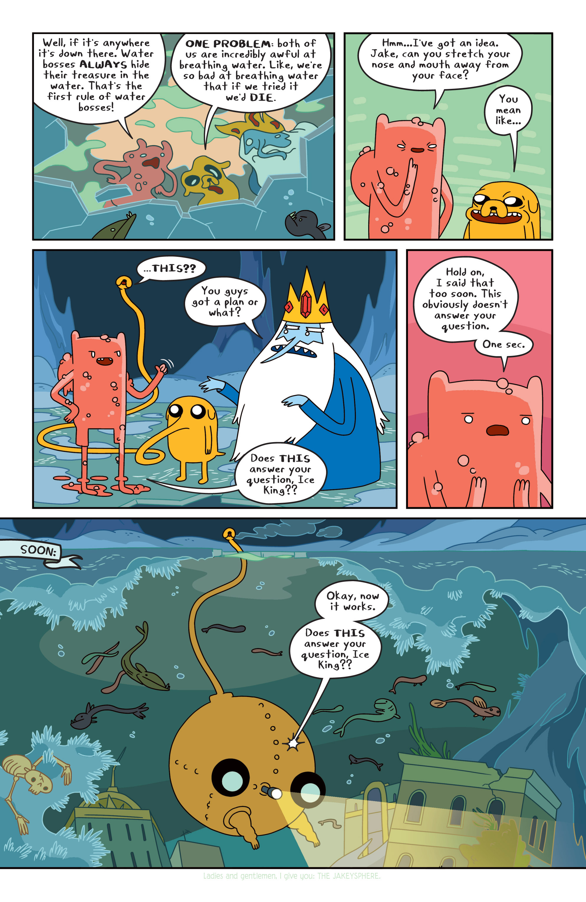 Read online Adventure Time comic -  Issue #17 - 11