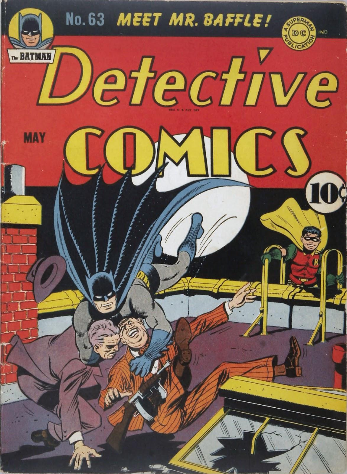 Detective Comics (1937) 63 Page 1