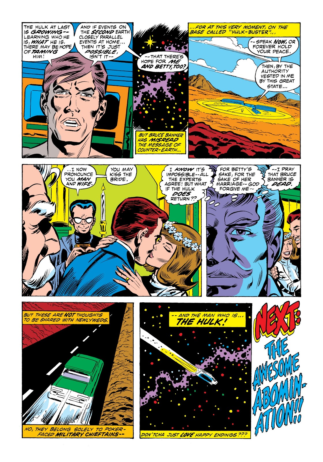 Read online Marvel Masterworks: The Incredible Hulk comic -  Issue # TPB 9 (Part 1) - 50