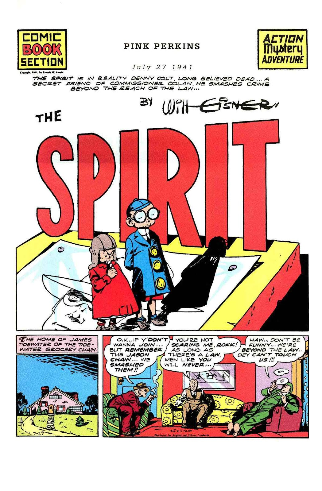 Read online Will Eisner's The Spirit Archives comic -  Issue # TPB 3 (Part 1) - 26