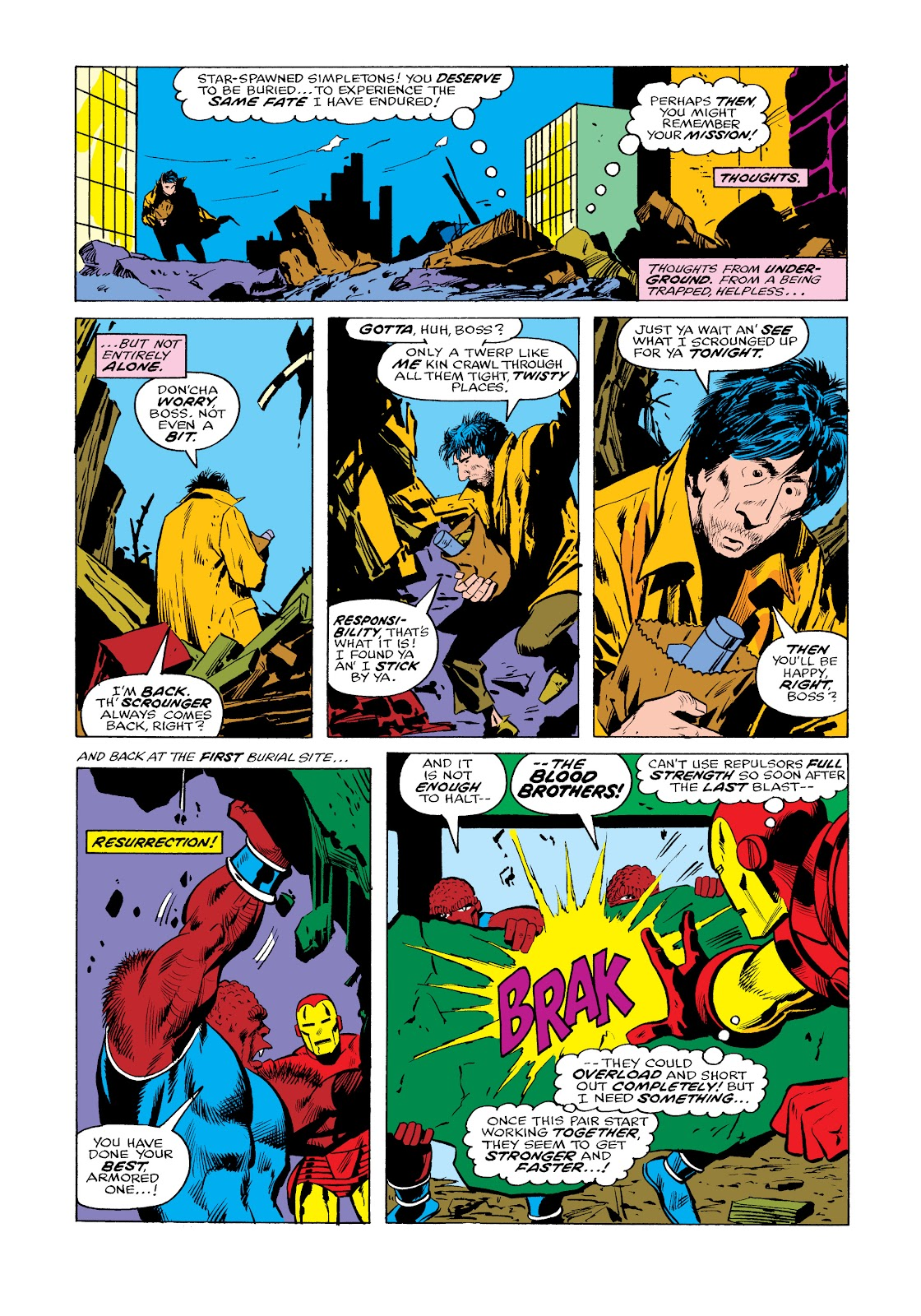 Read online Marvel Masterworks: The Invincible Iron Man comic -  Issue # TPB 11 (Part 2) - 73