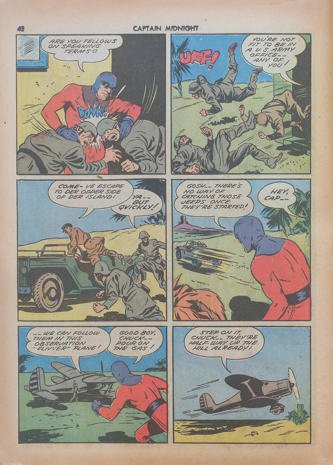Captain Midnight (1942) issue 7 - Page 42