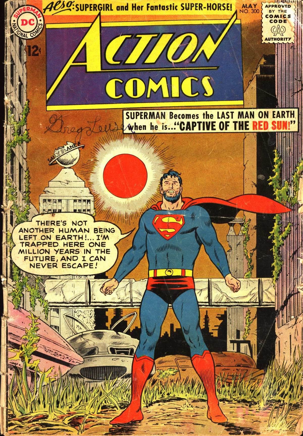 Action Comics (1938) 300 Page 0