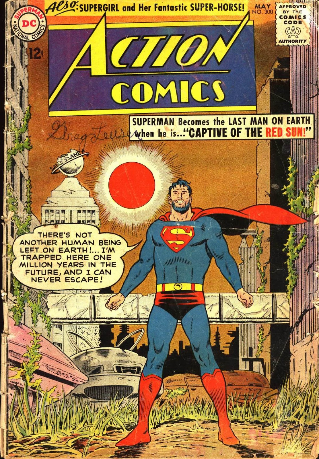 Action Comics (1938) 300 Page 1