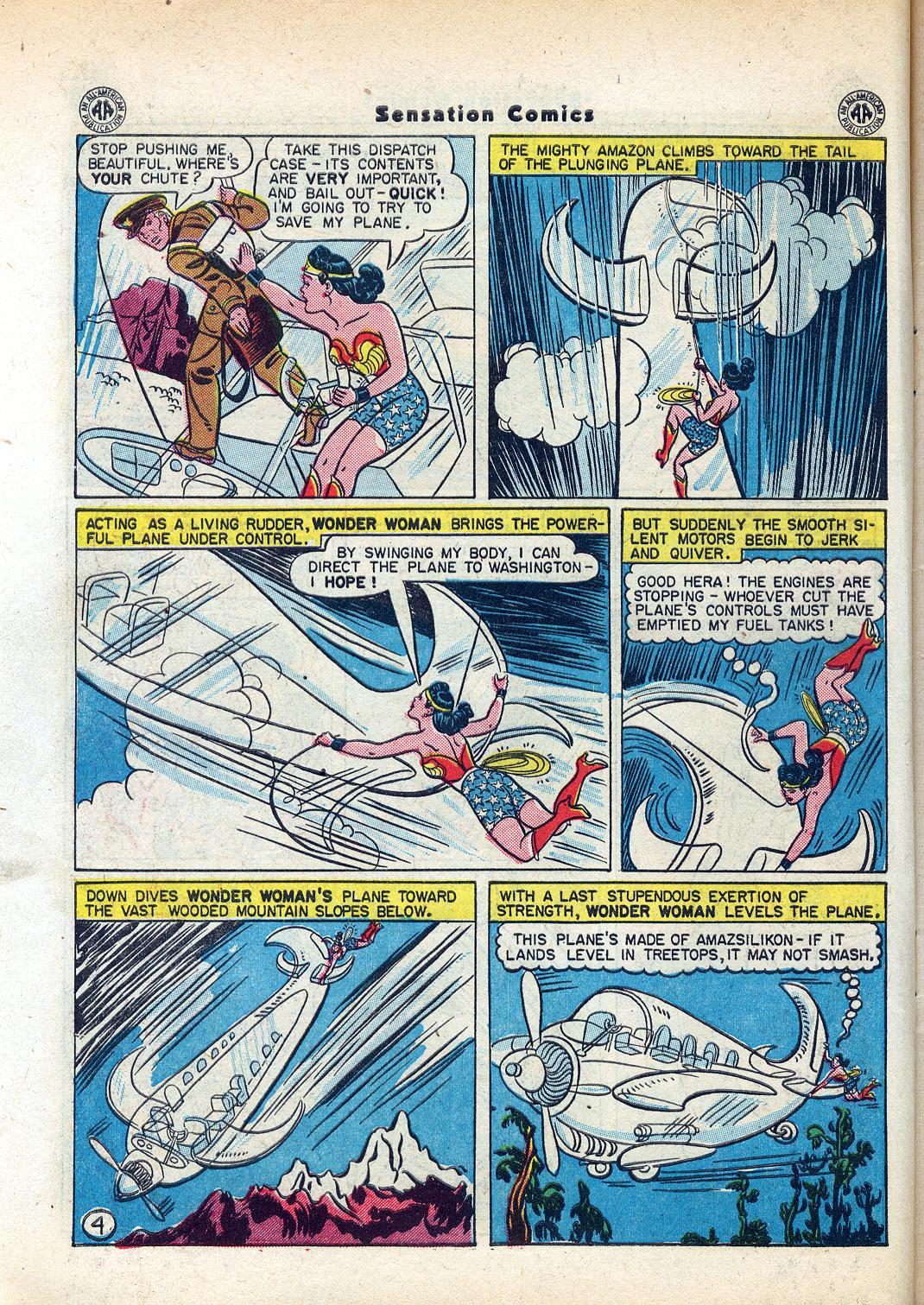 Read online Sensation (Mystery) Comics comic -  Issue #45 - 6