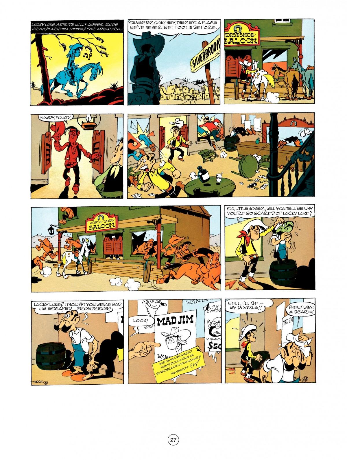 Read online A Lucky Luke Adventure comic -  Issue #48 - 27