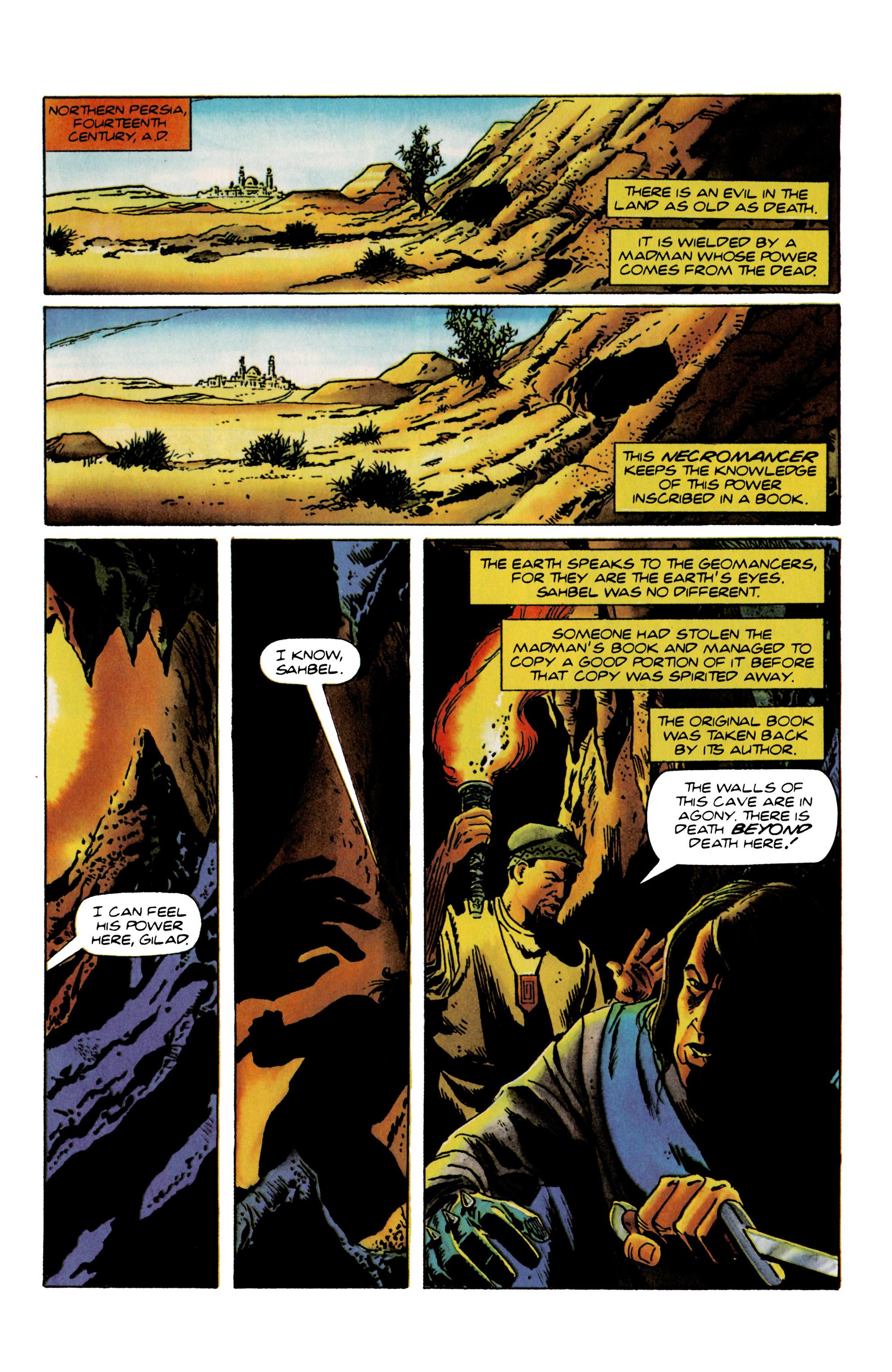 Read online Eternal Warrior (1992) comic -  Issue #22 - 2