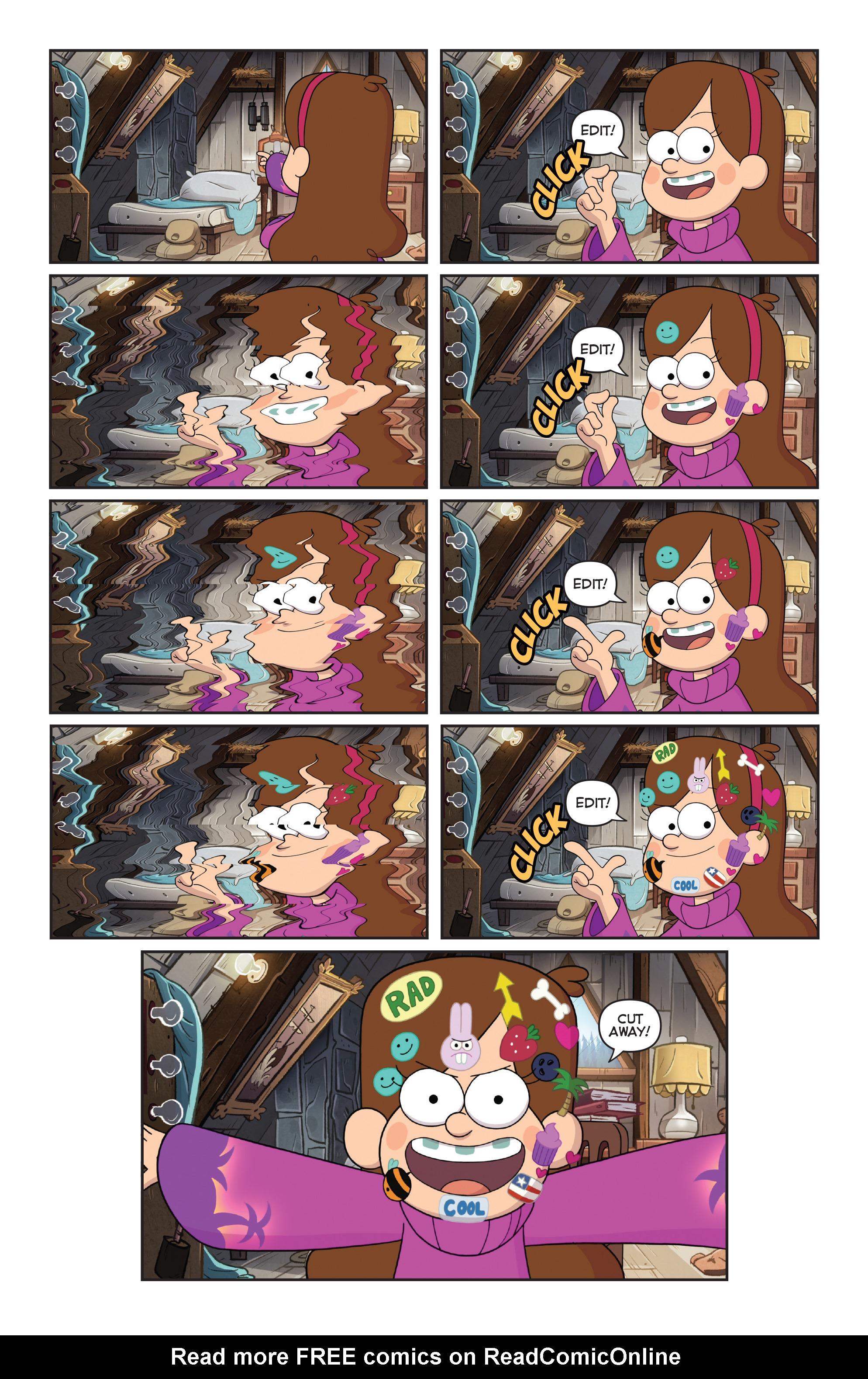 Read online Disney Gravity Falls Shorts Cinestory Comic comic -  Issue #2 - 15